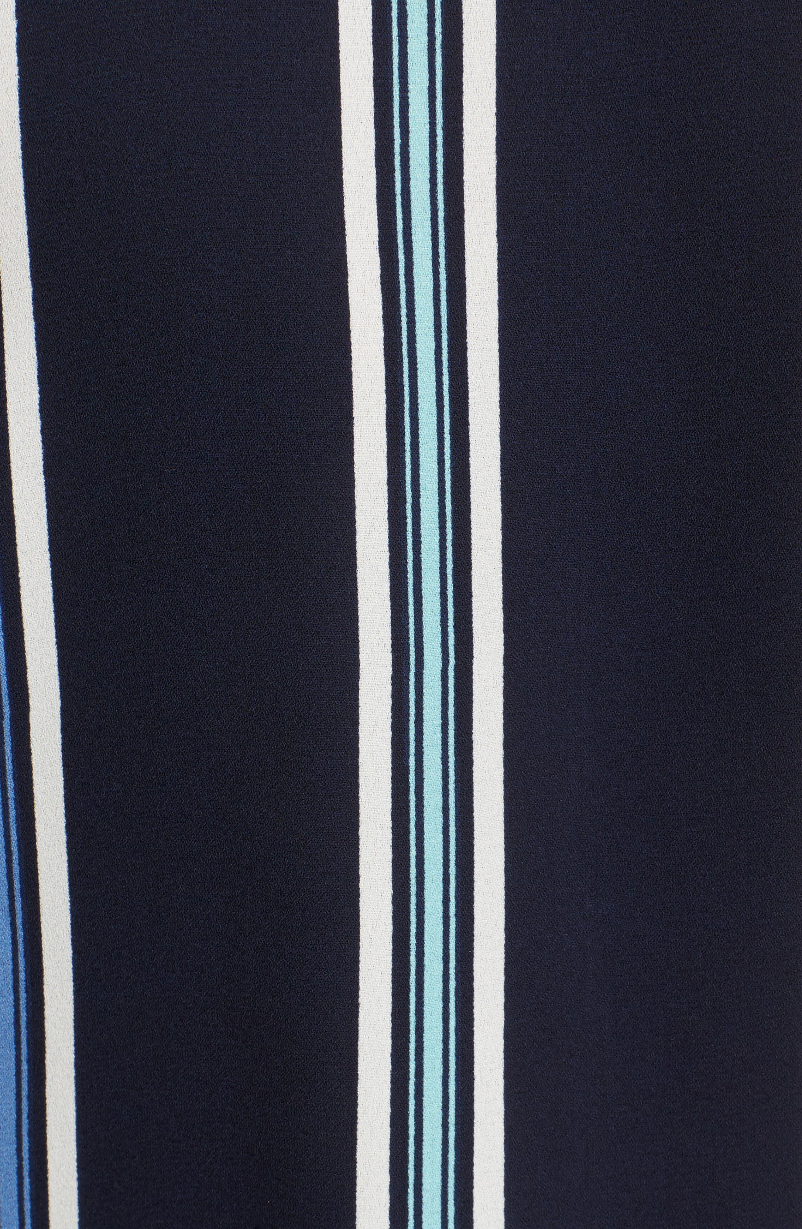 Wrap Tank,                             Alternate thumbnail 5, color,                             Blue Tonal Stripe