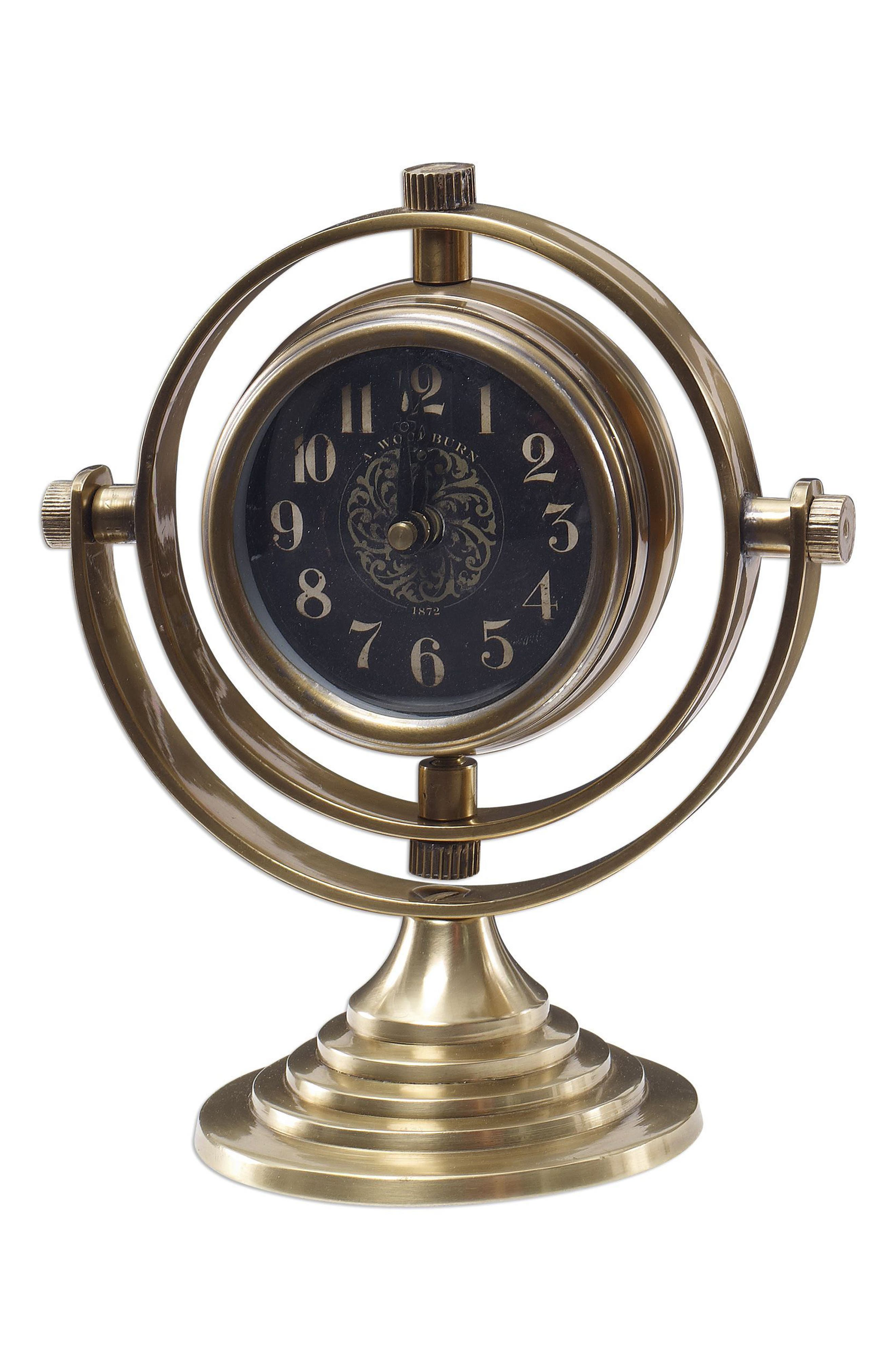 Main Image - Uttermost Almonzo Table Clock
