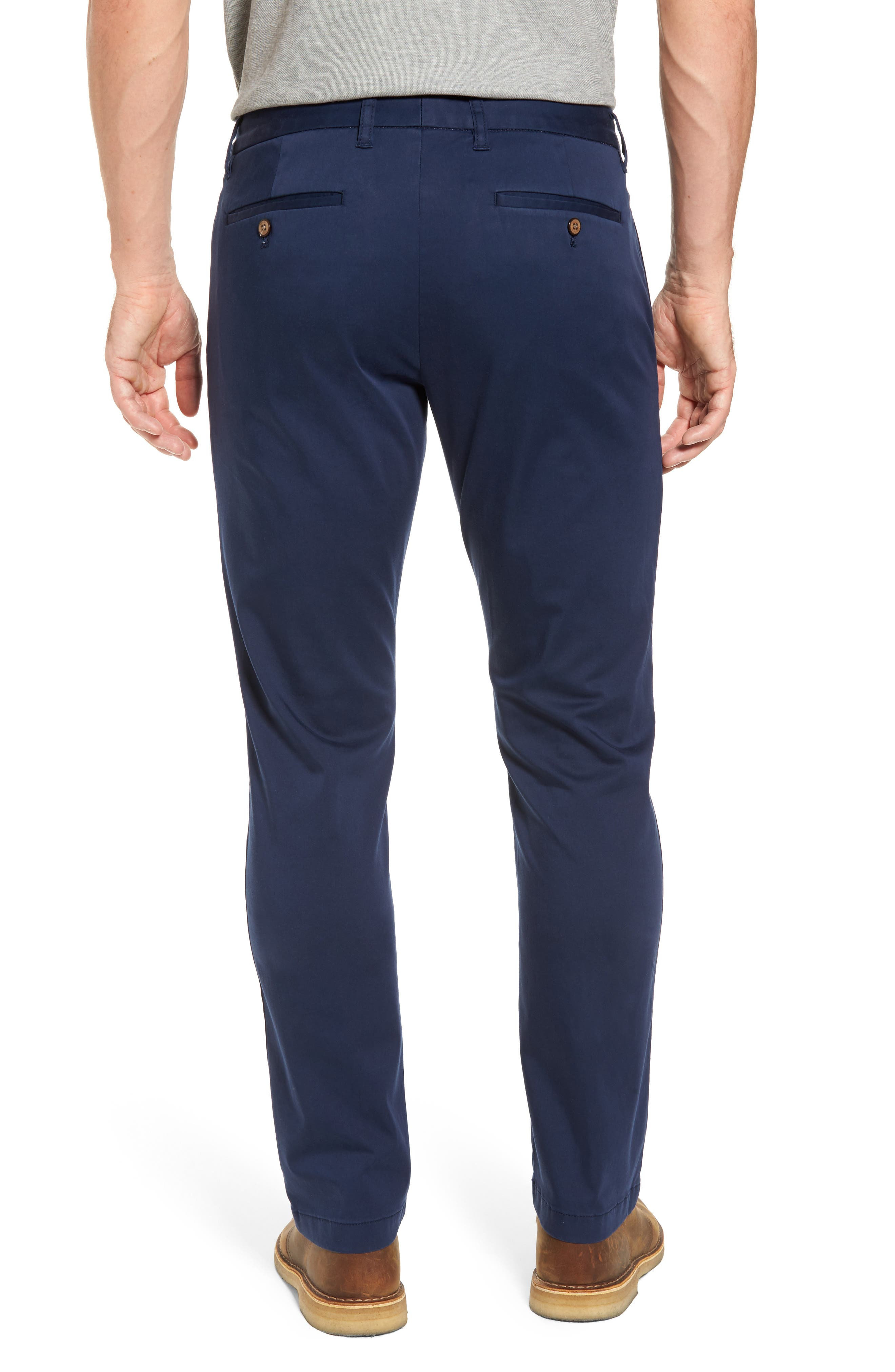 Boracay Flat Front Pants,                             Alternate thumbnail 2, color,                             Maritime
