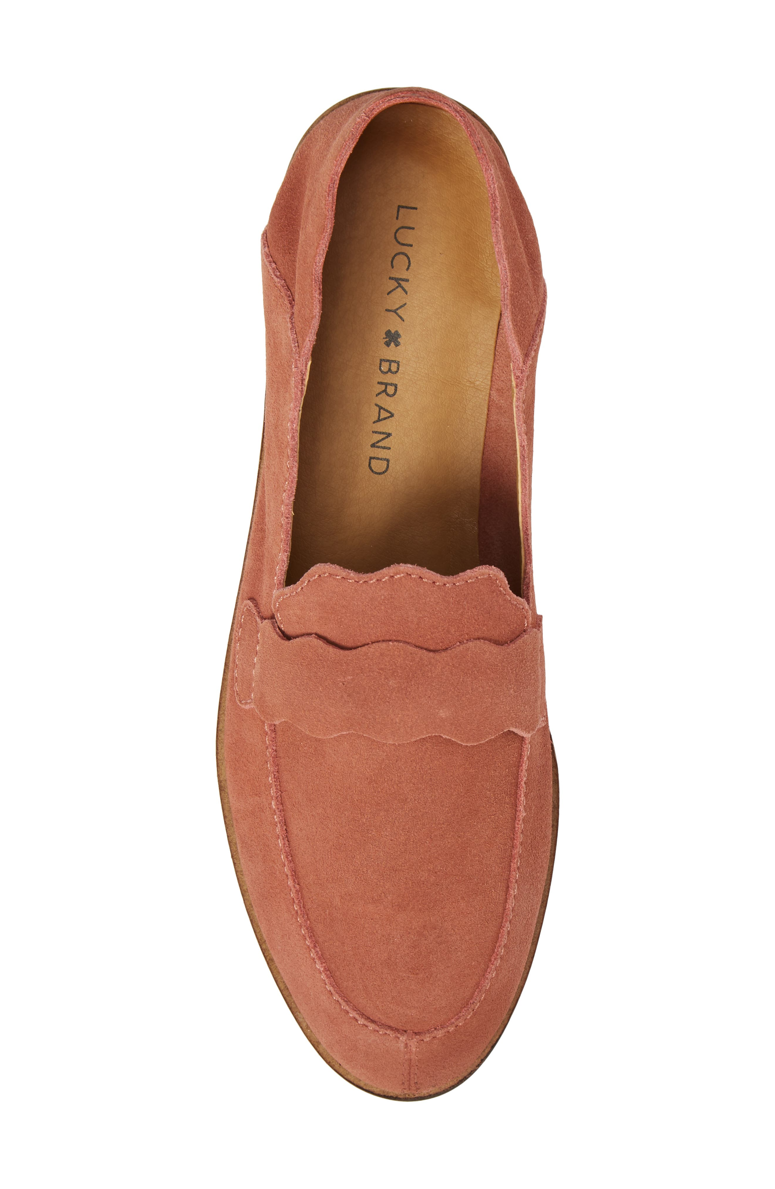 Callister Loafer,                             Alternate thumbnail 5, color,                             Canyon Rose Suede