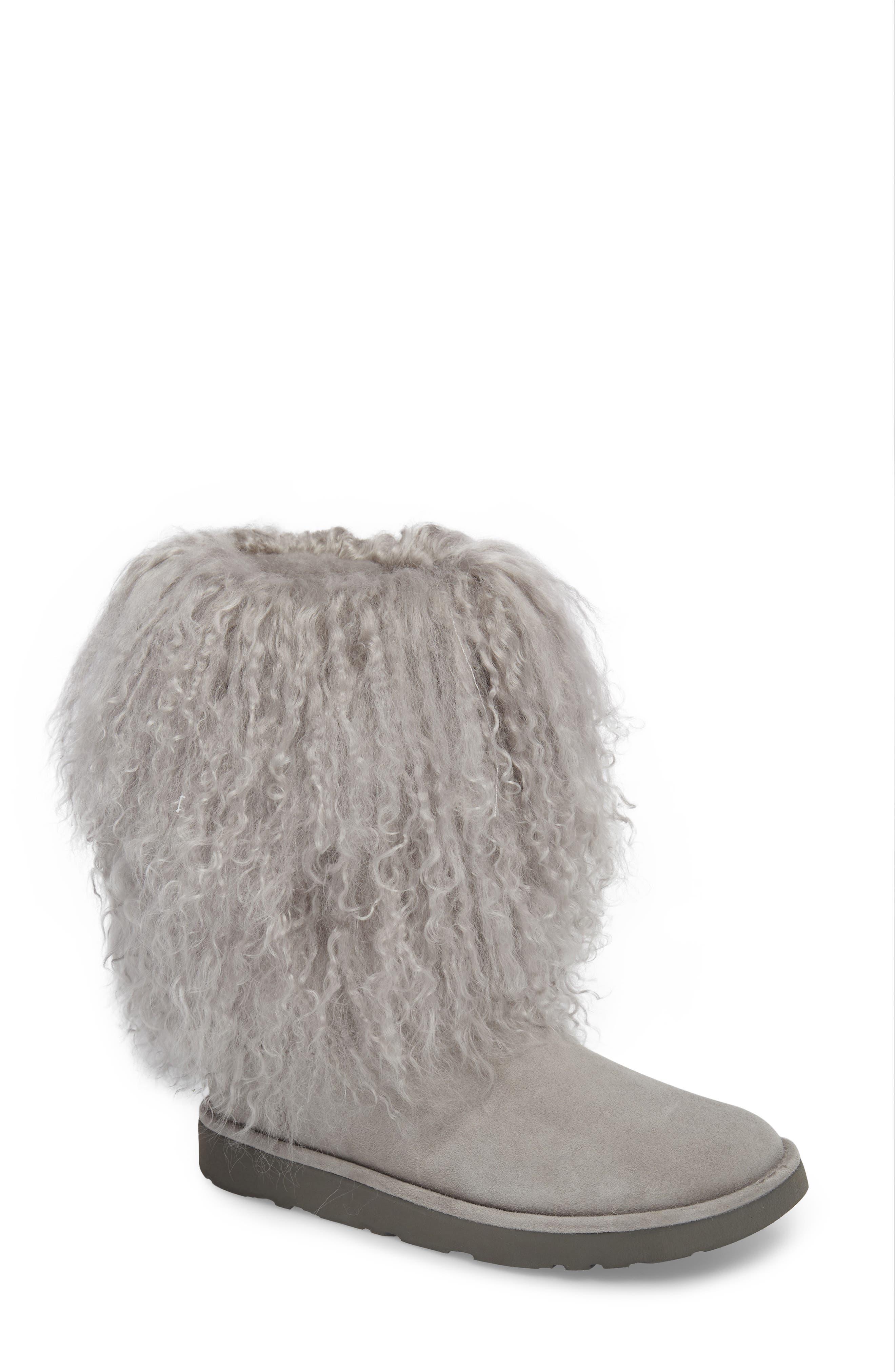 UGG® Lida Genuine Shearling Boot (Women)