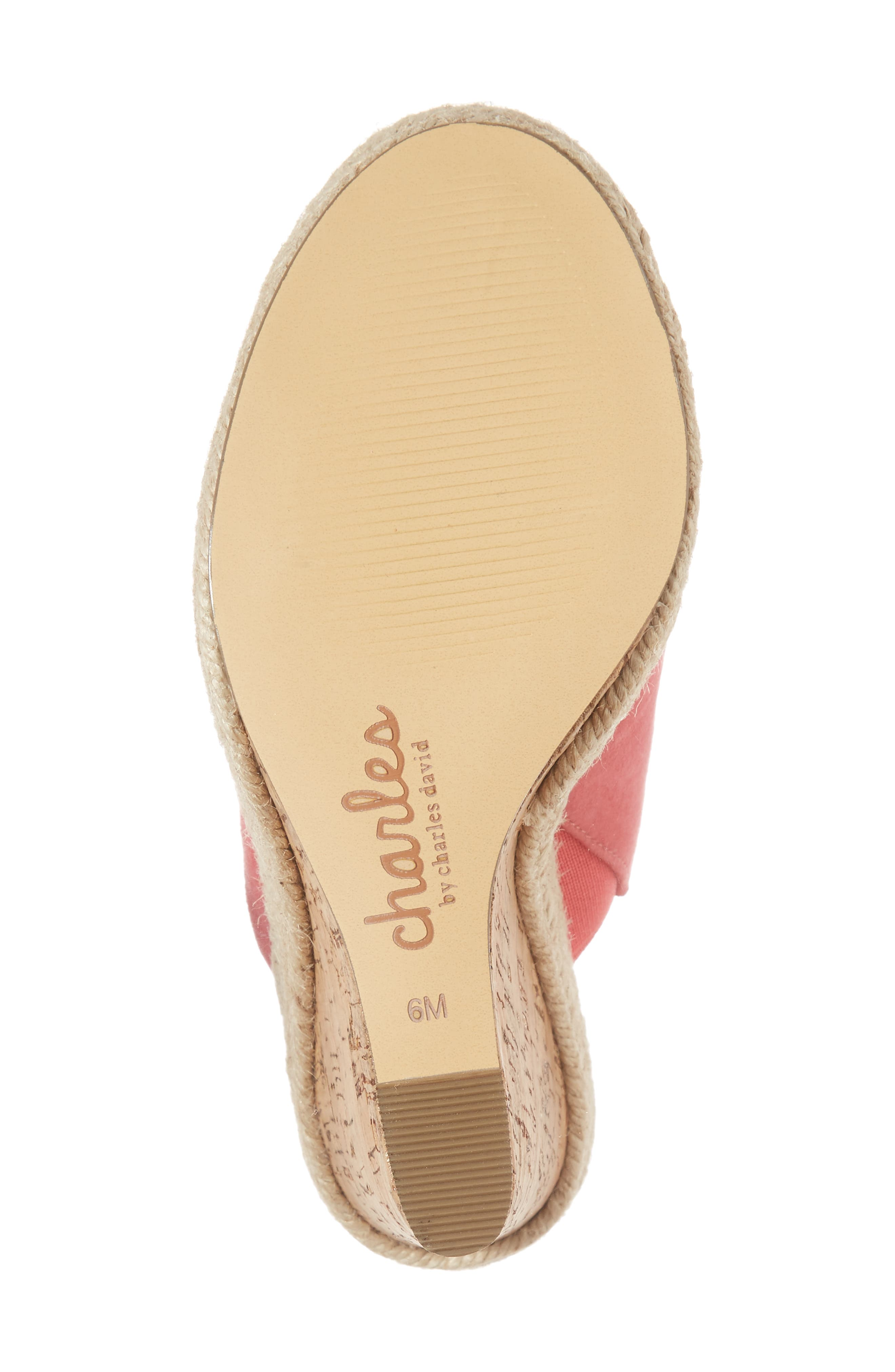 Balen Wedge,                             Alternate thumbnail 10, color,                             Coral Suede
