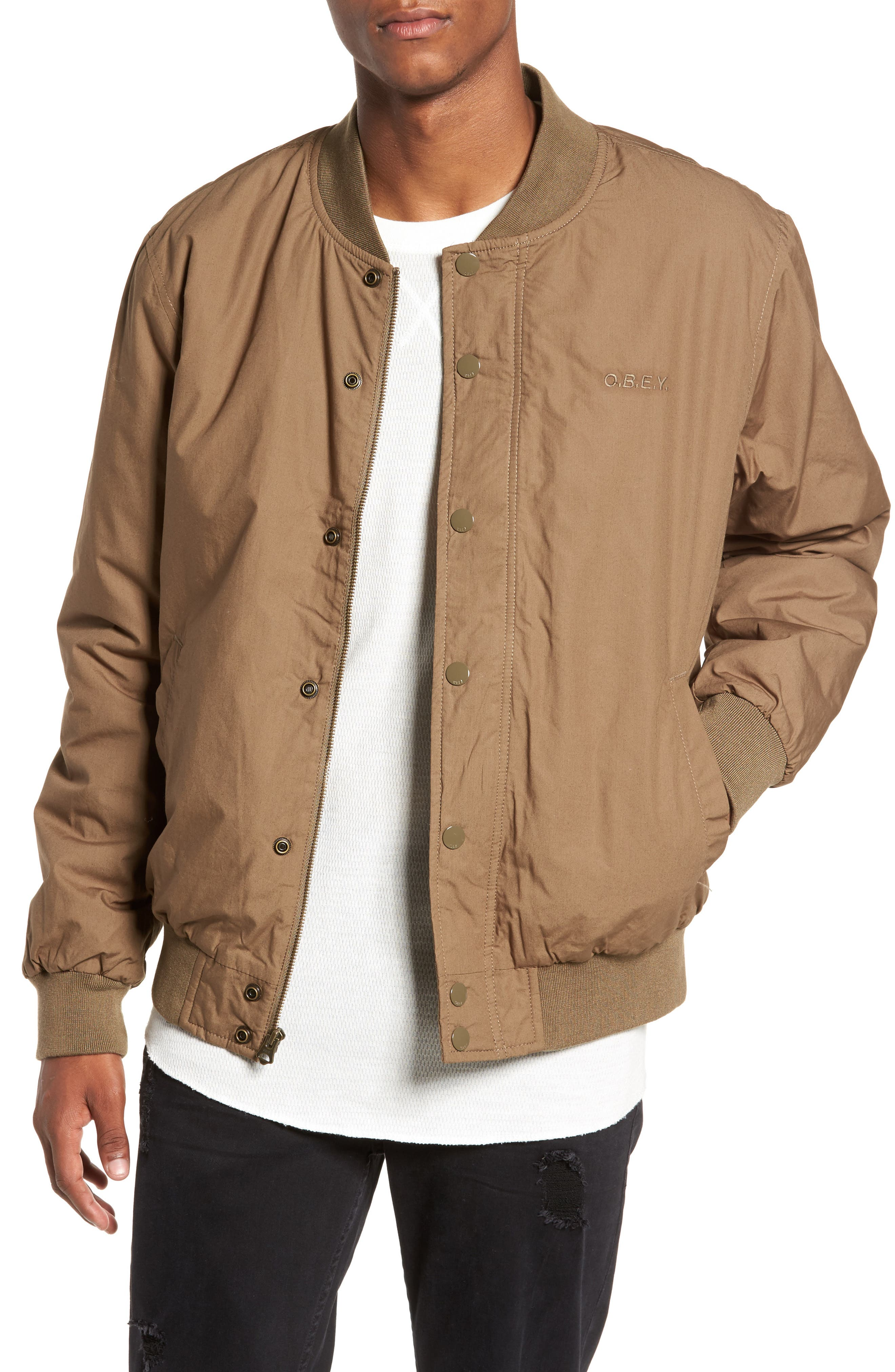 Obey Ranks Bomber Jacket