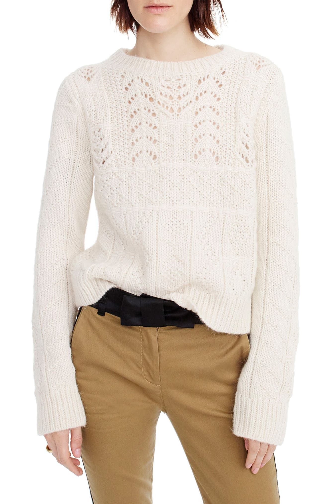 J.Crew Heritage 1988 Cable Knit Sweater