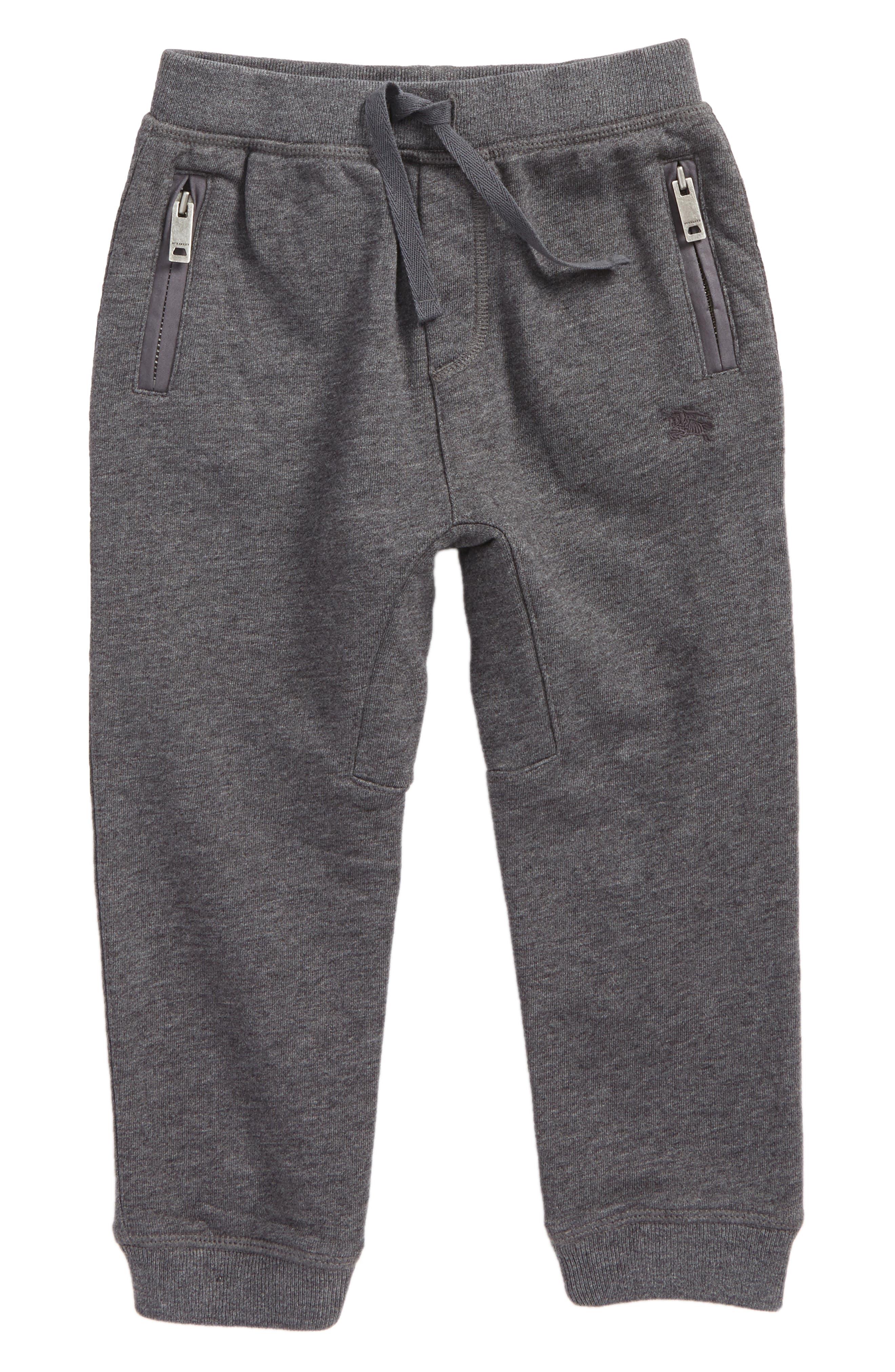 Mini Phill Jogger Sweatpants,                             Main thumbnail 1, color,                             Charcoal Melange