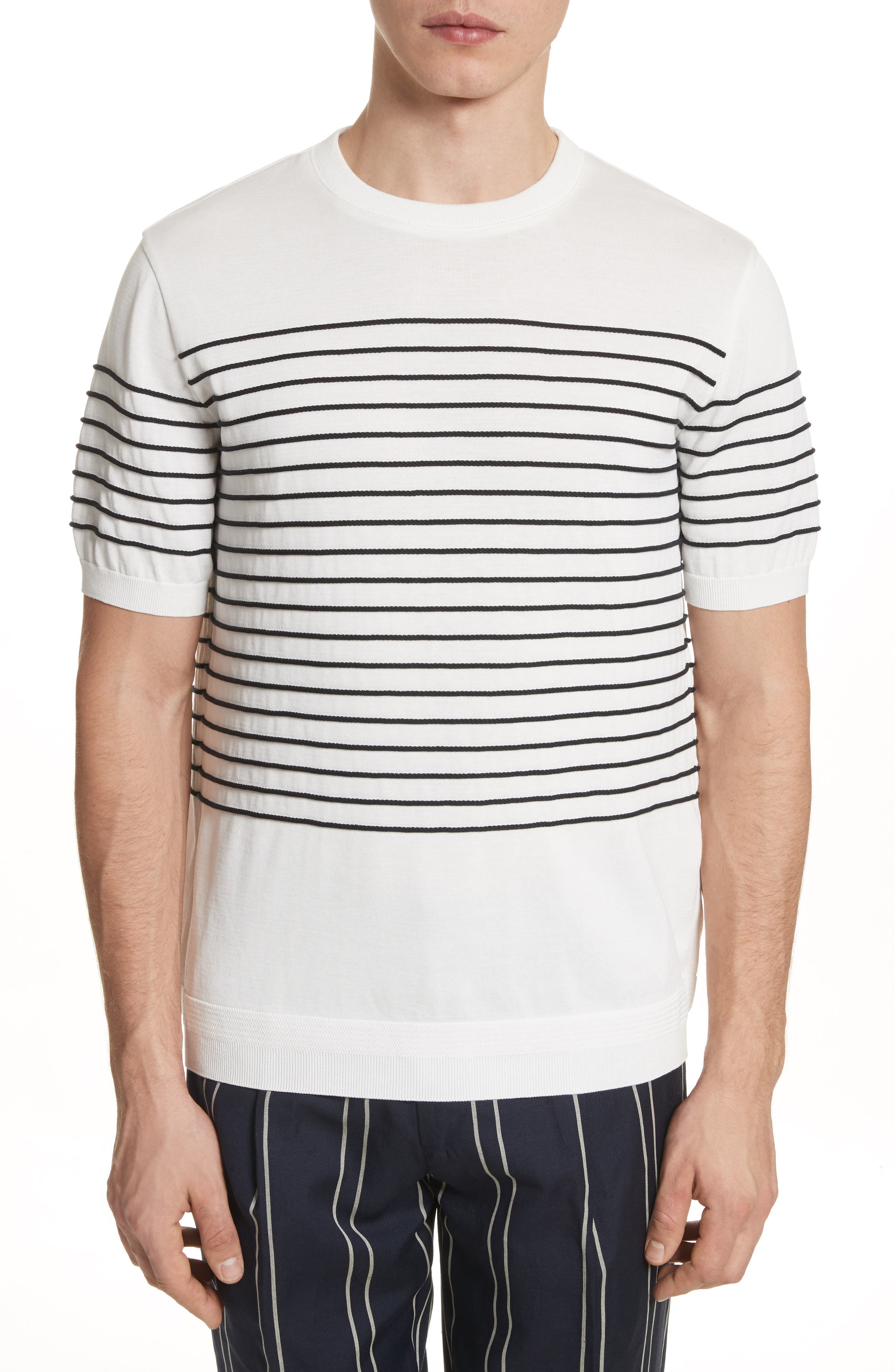 Tomorrowland Tricot Stripe T-Shirt