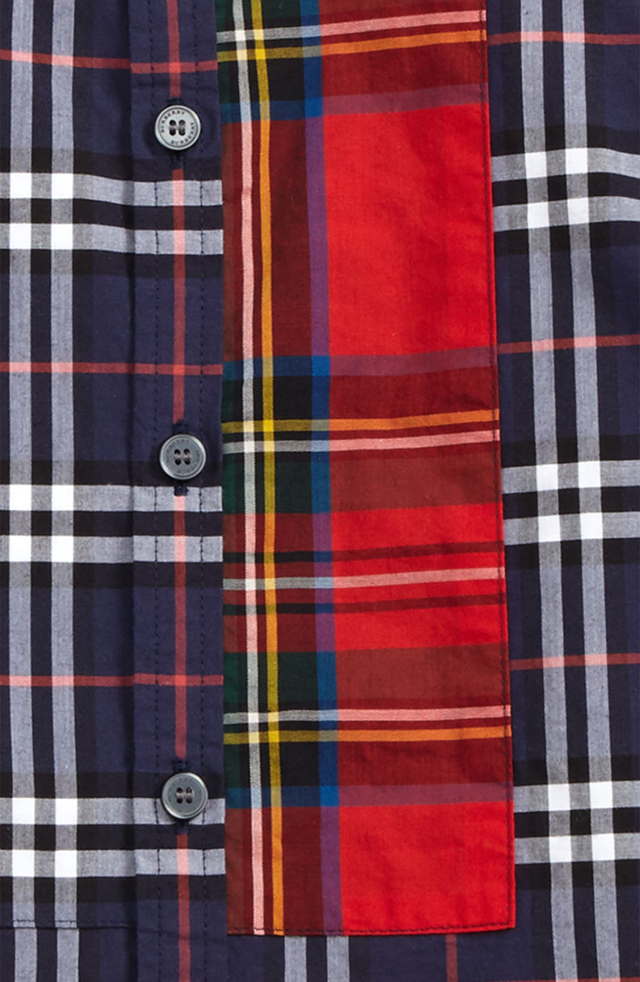 Alternate Image 2  - Burberry Argus Check Print Woven Shirt (Toddler Boys, Little Boys & Big Boys)