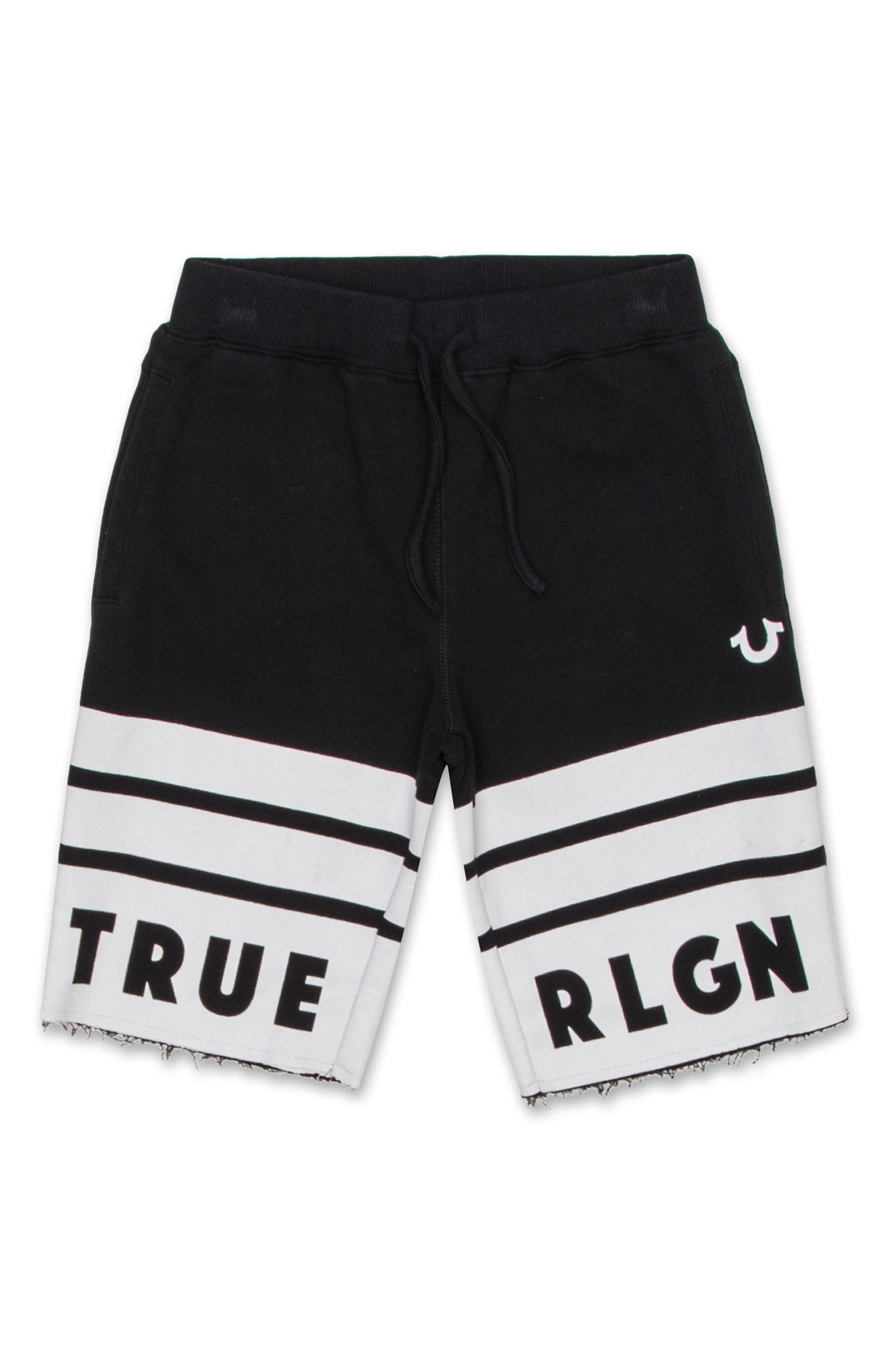 Logo Athletic Shorts,                             Main thumbnail 1, color,                             Black