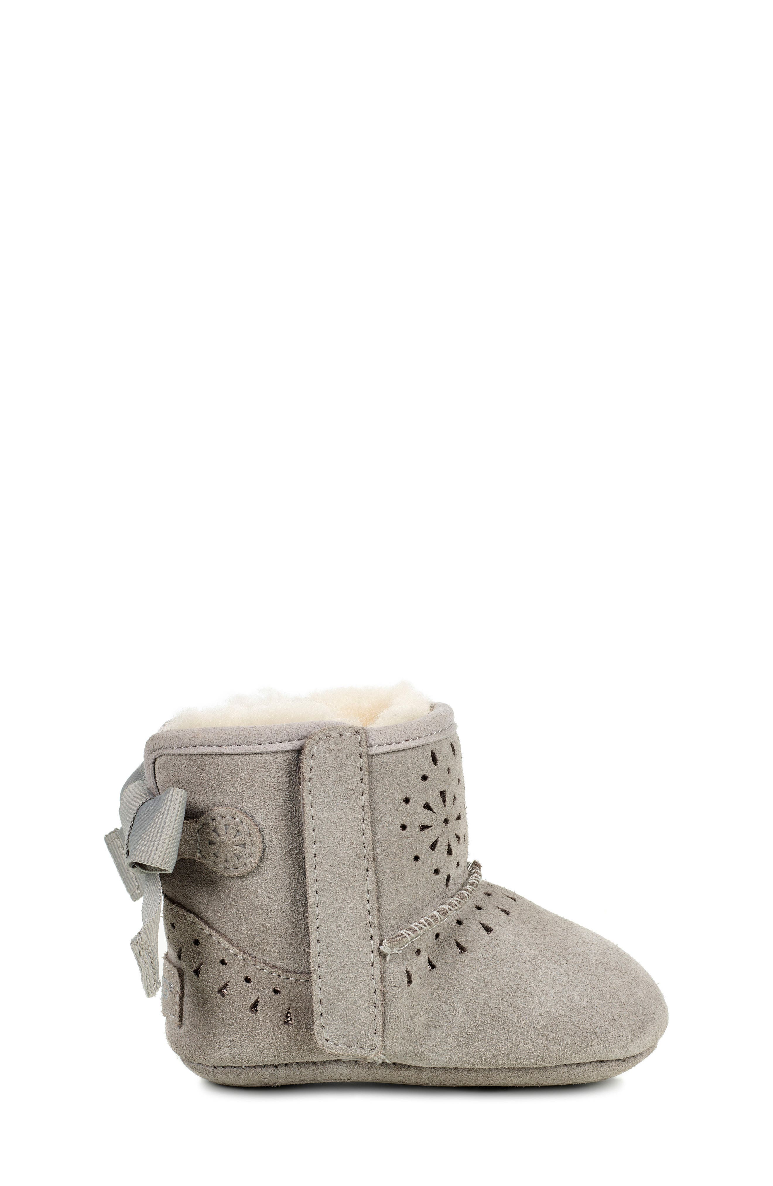 UGG® Jesse Bow II Sunshine Perforated Bootie (Baby & Walker)