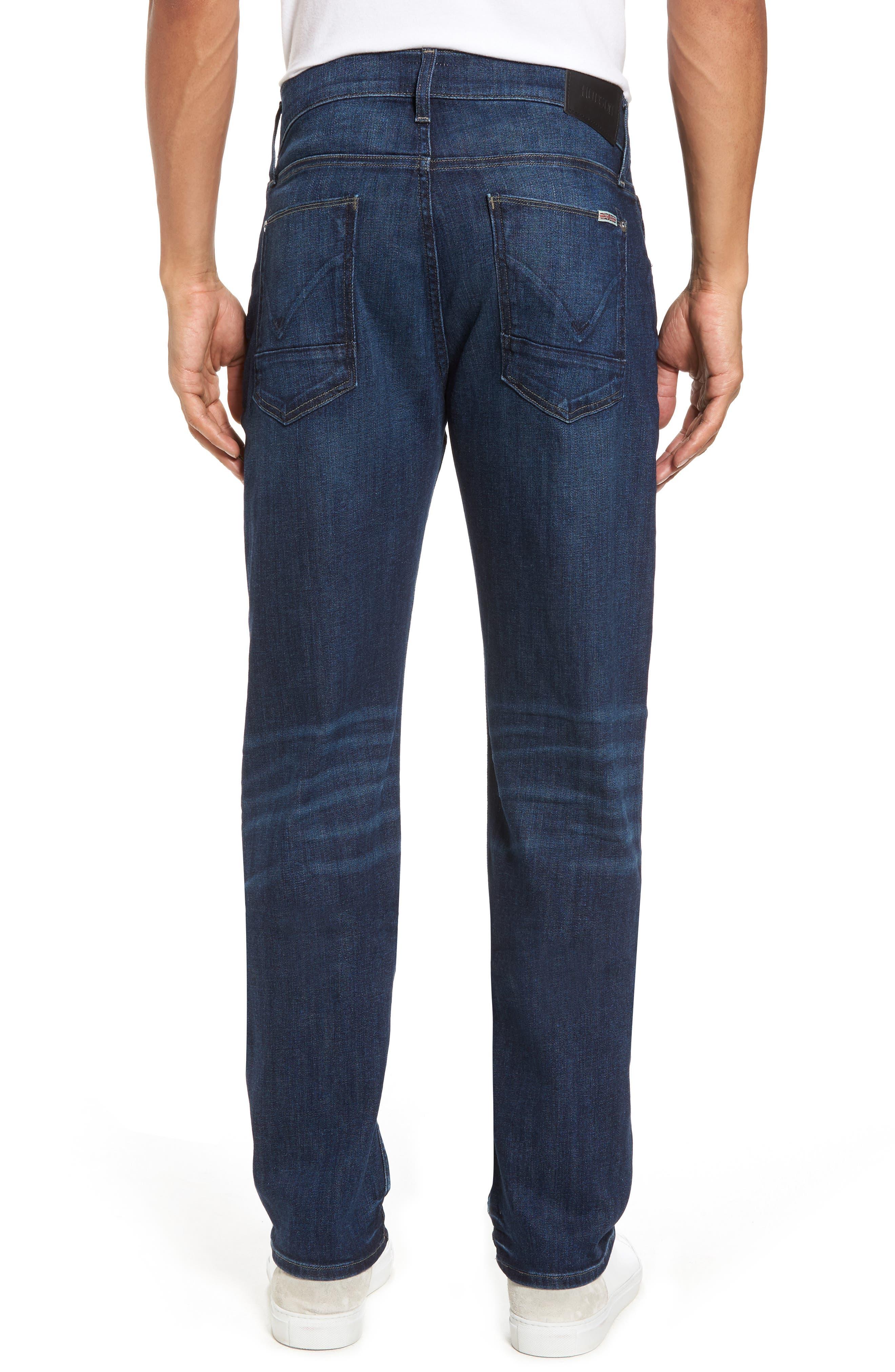 Alternate Image 2  - Hudson Jeans Byron Slim Straight Fit Jeans (Draper)