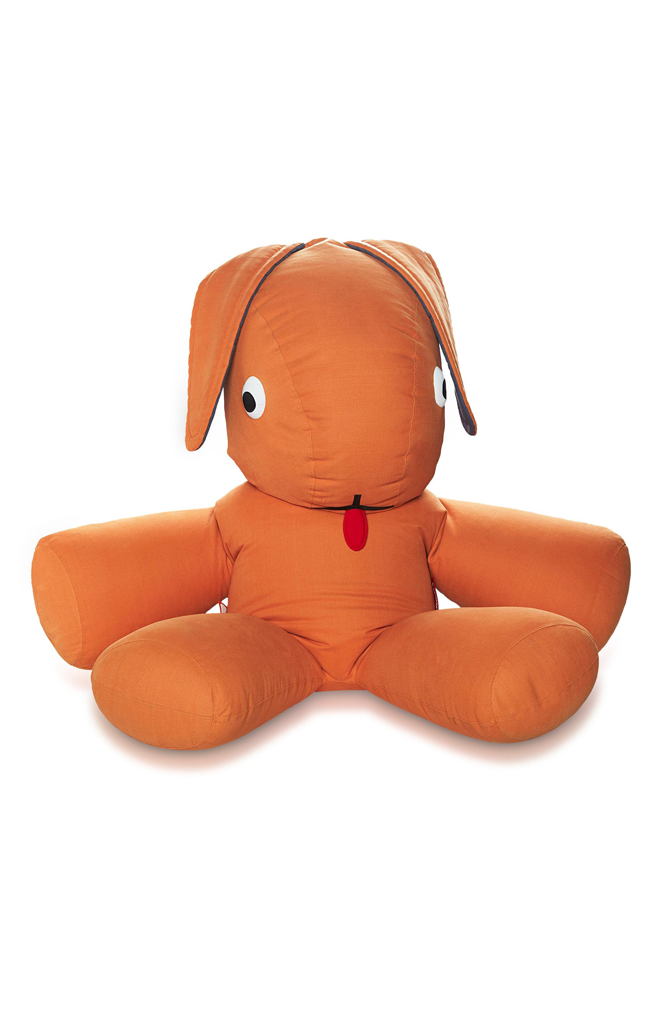 CO9 Oversize Bunny Lounger,                         Main,                         color, Orange