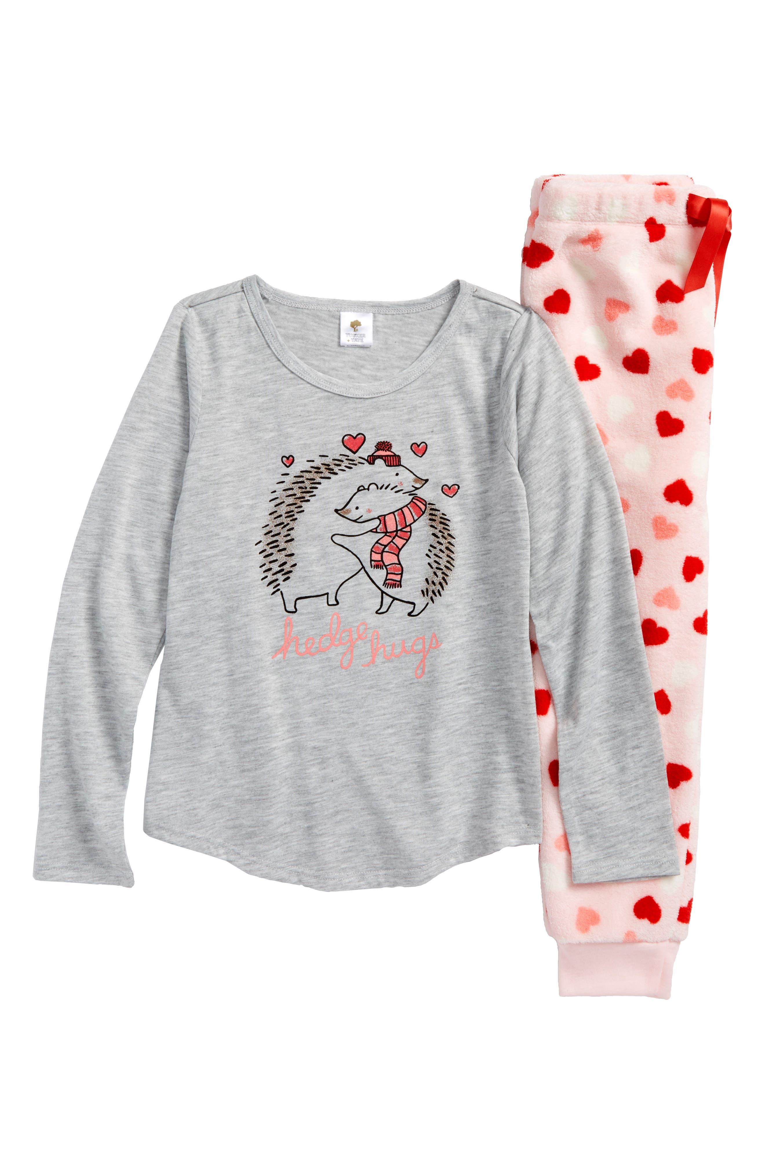 Alternate Image 1 Selected - Tucker + Tate Two-Piece Pajamas (Toddler Girls, Little Girls & Big Girls)