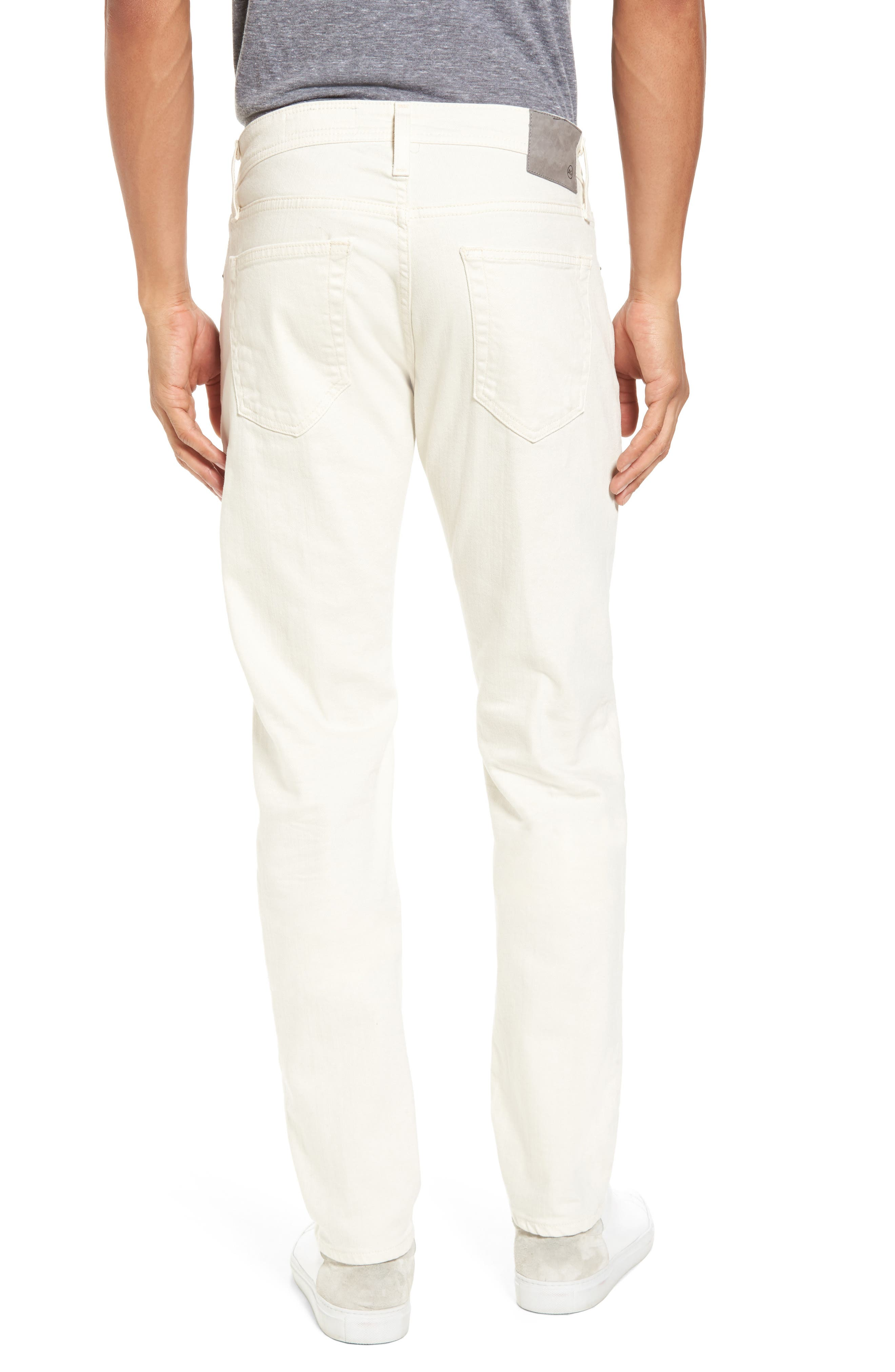 Tellis Modern Slim Twill Pants,                             Alternate thumbnail 2, color,                             1 Year Moon Glade