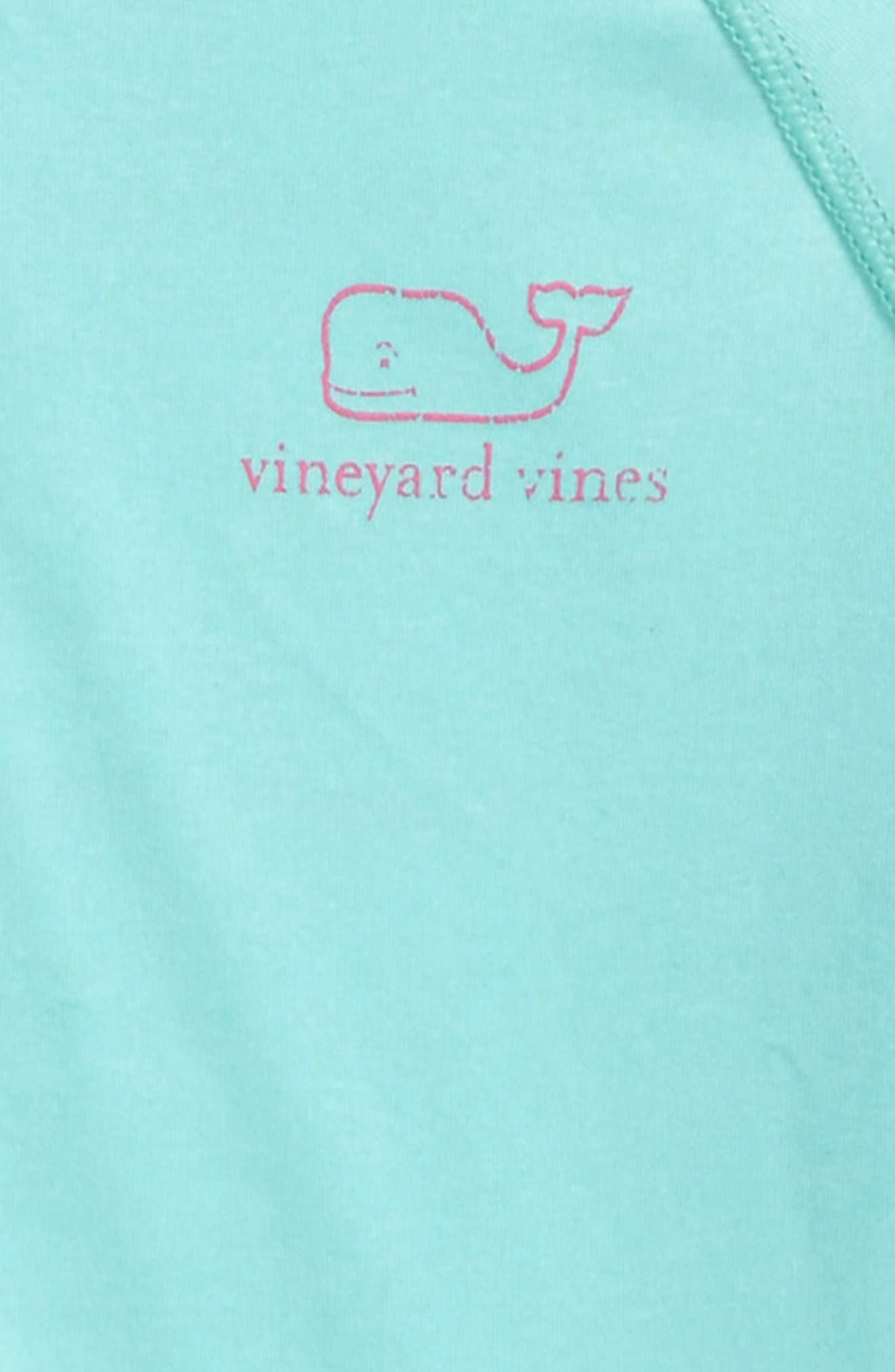 Alternate Image 3  - vineyard vines Vintage Whale Performance Tee (Toddler Girls)