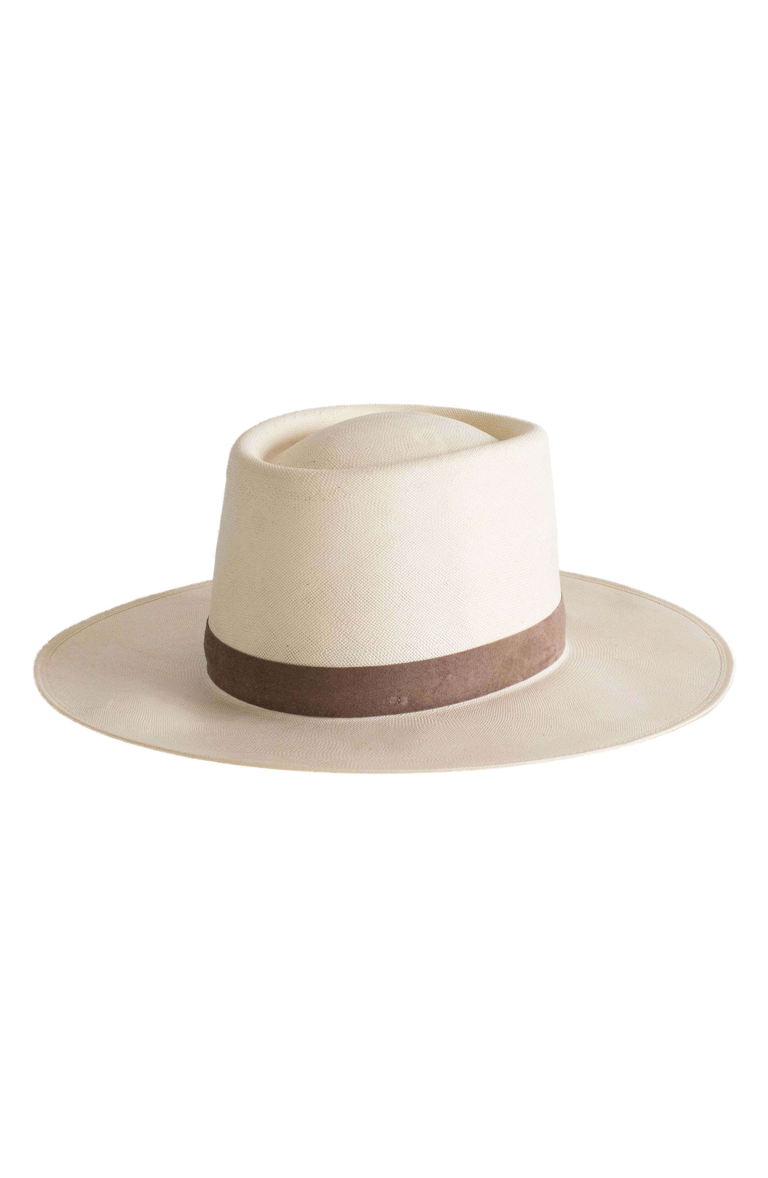 Shea Straw Hat,                         Main,                         color, Ivory