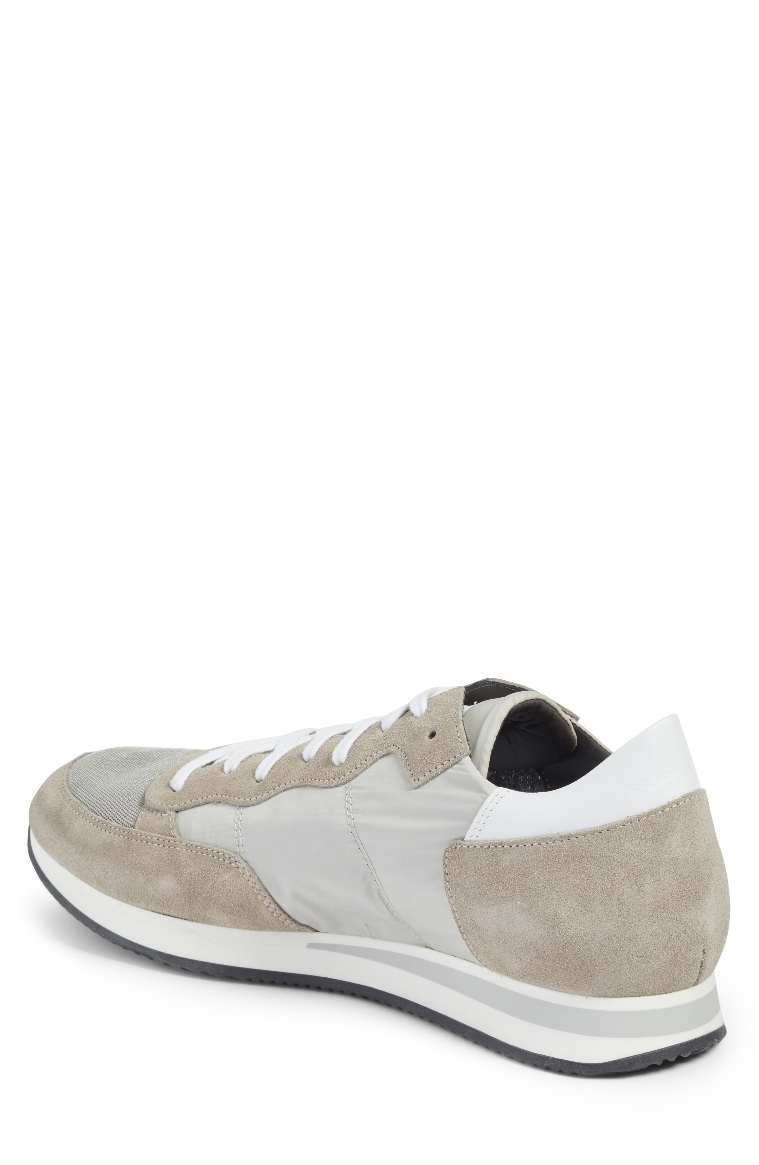 Tropez Low Top Sneaker,                             Alternate thumbnail 2, color,                             Grey/ White