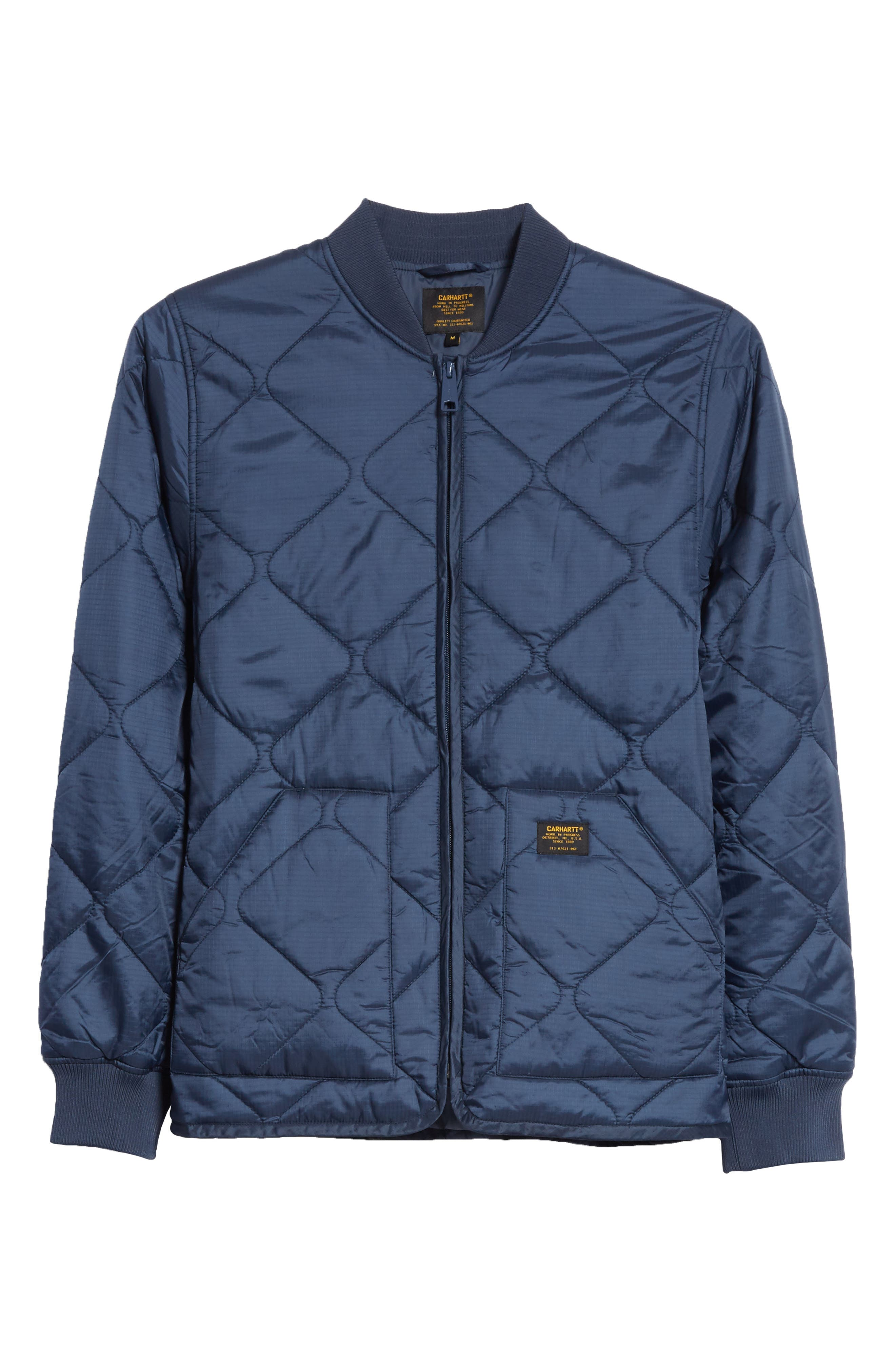 Main Image - Carhartt Work in Progress Quilted Ripstop Bomber Jacket