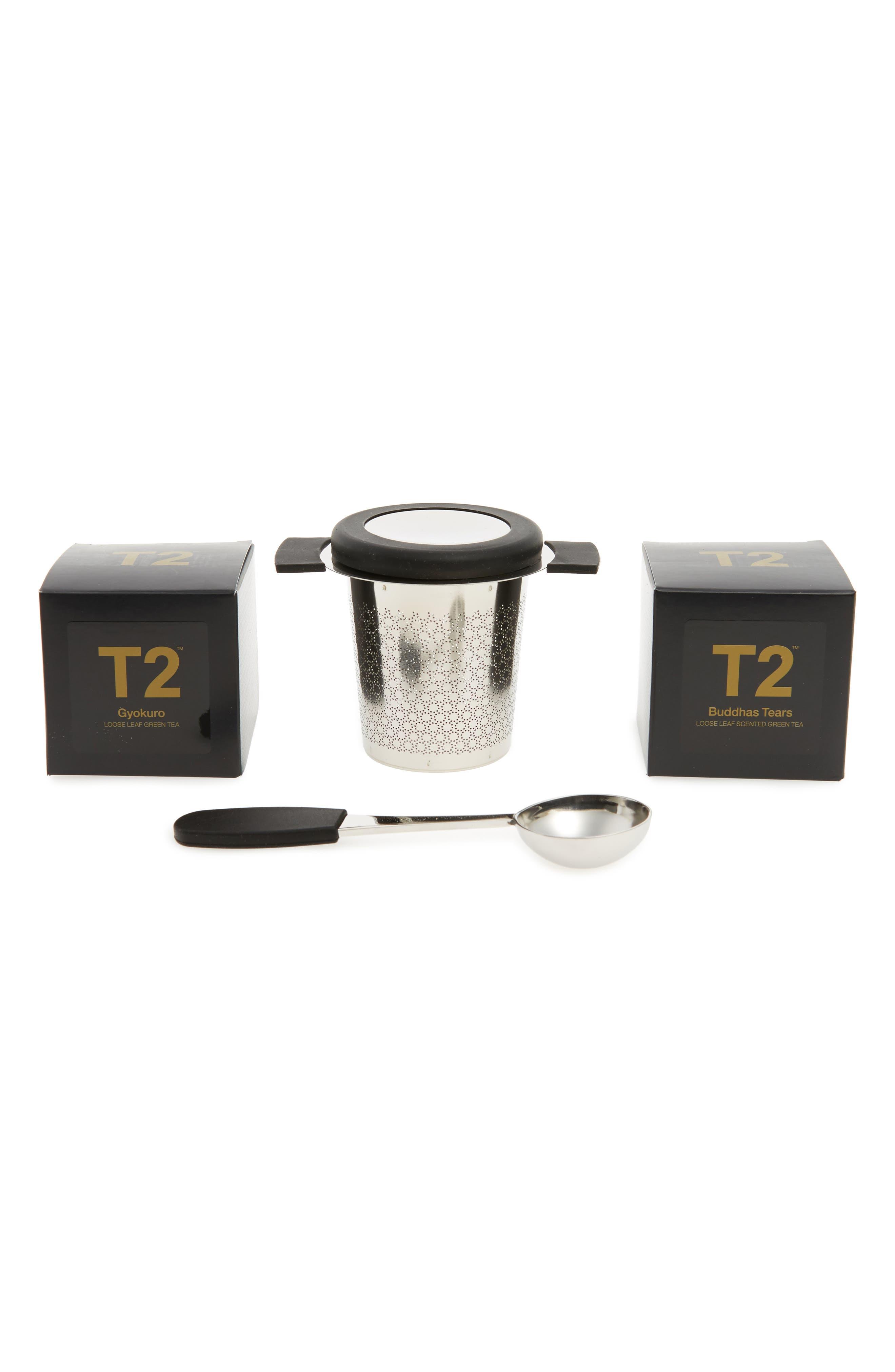 Little Bit Luxe Loose Leaf Tea Box Set,                         Main,                         color, Luxe
