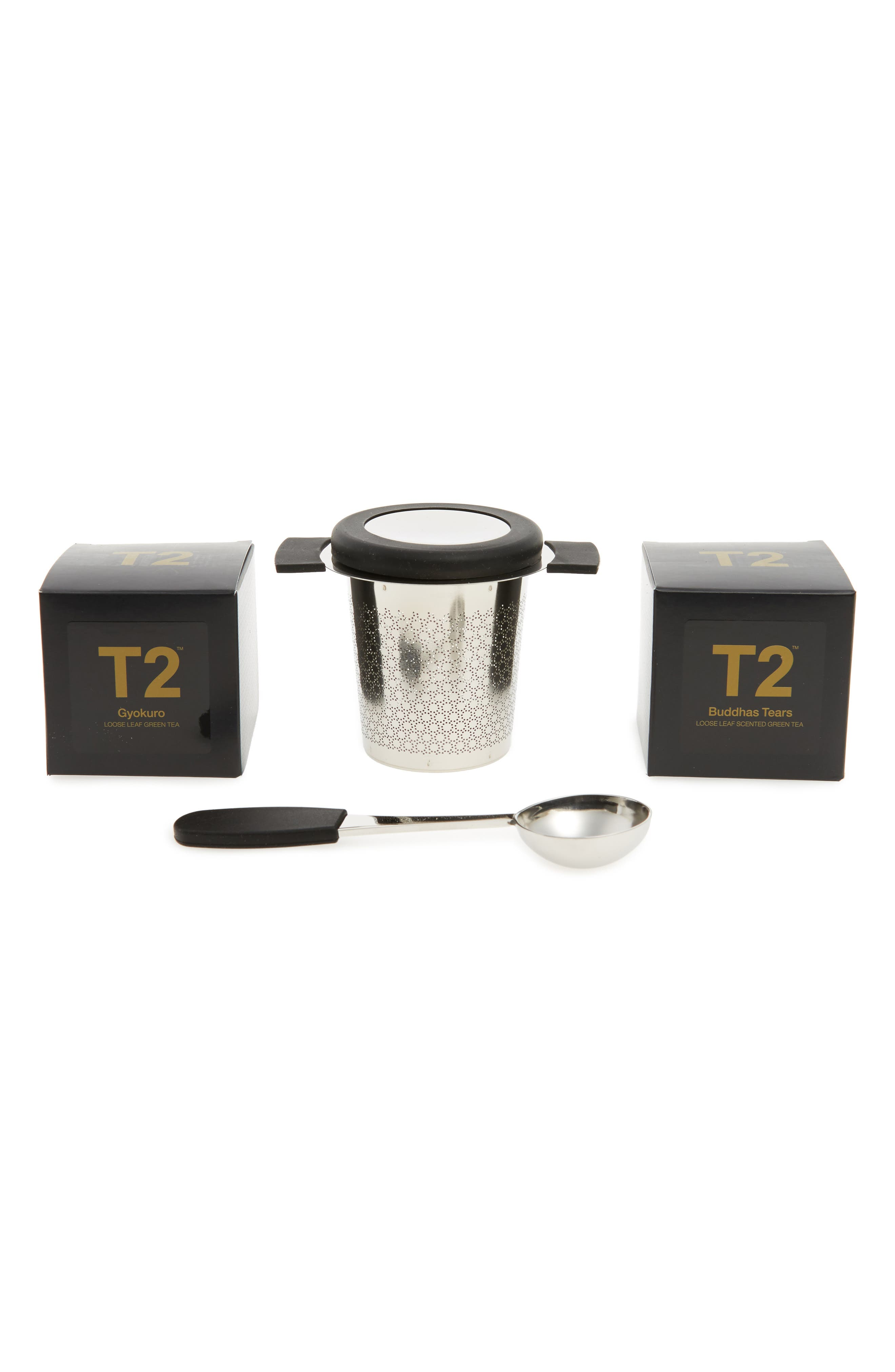 T2 Tea Little Bit Luxe Loose Leaf Tea Box Set