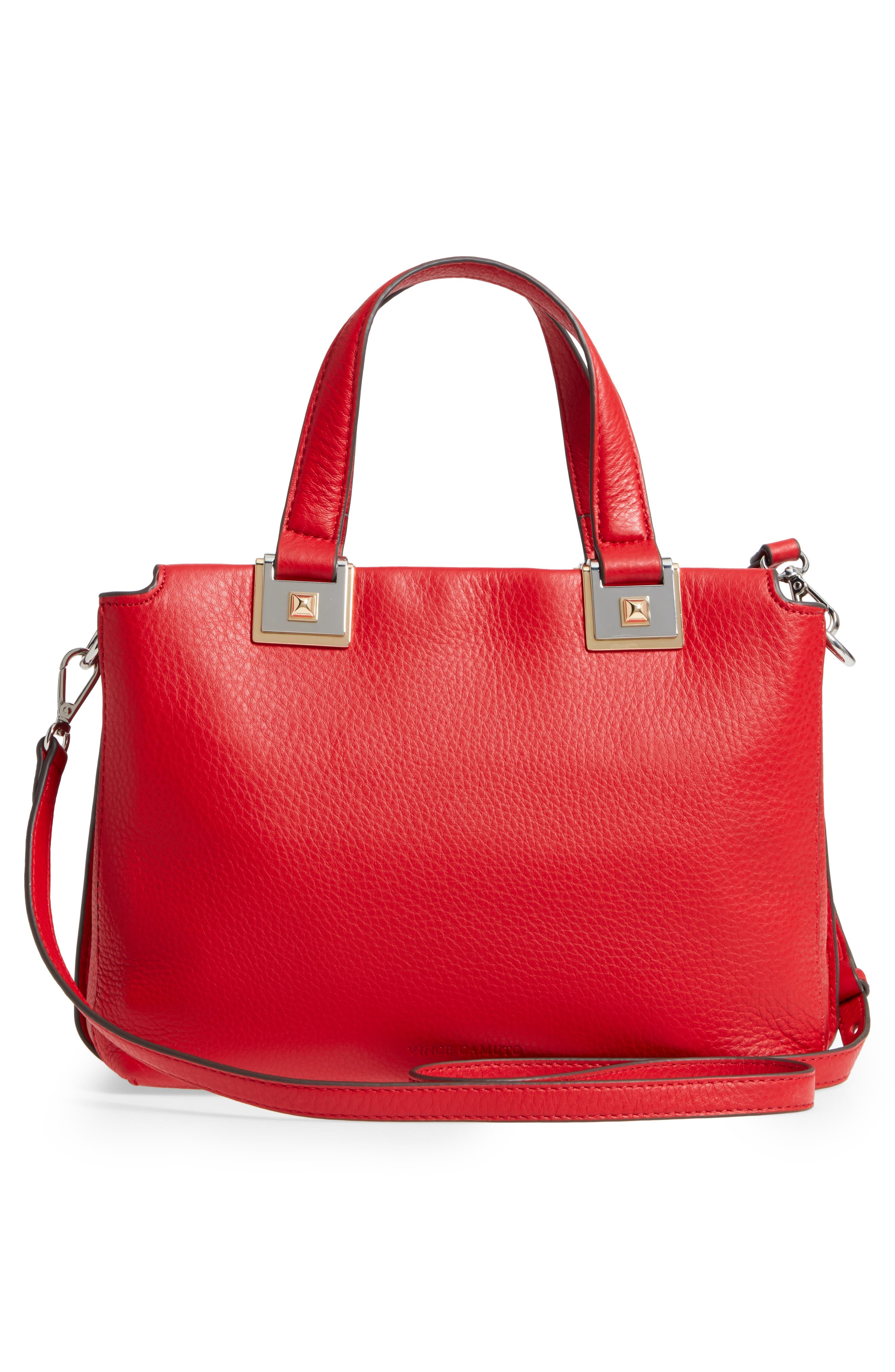 Alternate Image 3  - Vince Camuto Bitty Leather Satchel