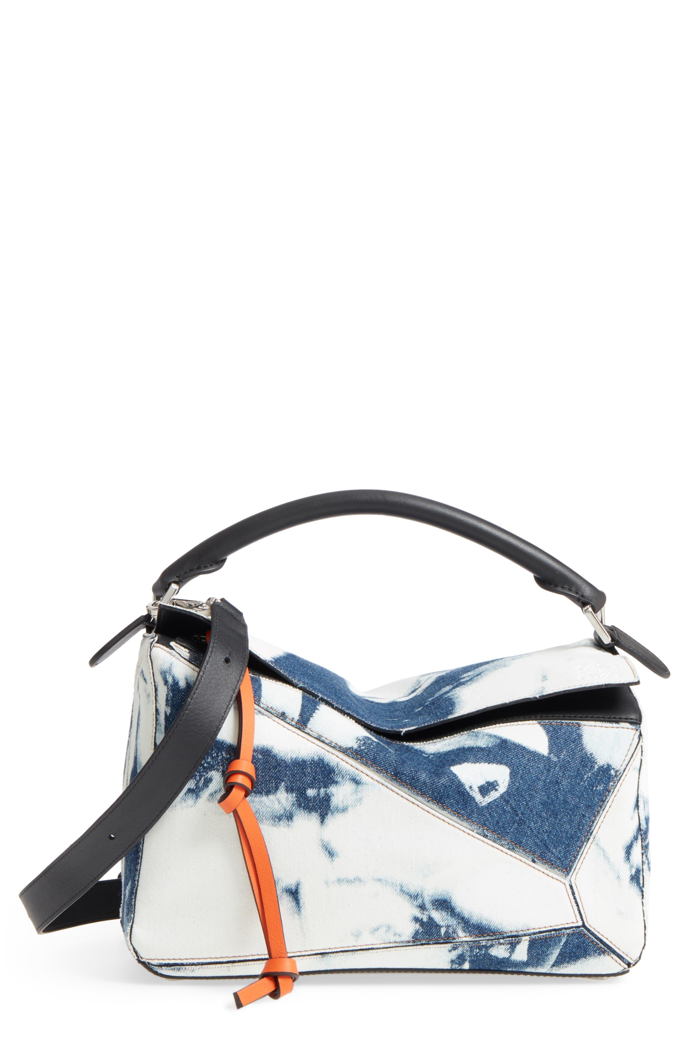 Loewe Medium Puzzle Denim Shoulder Bag