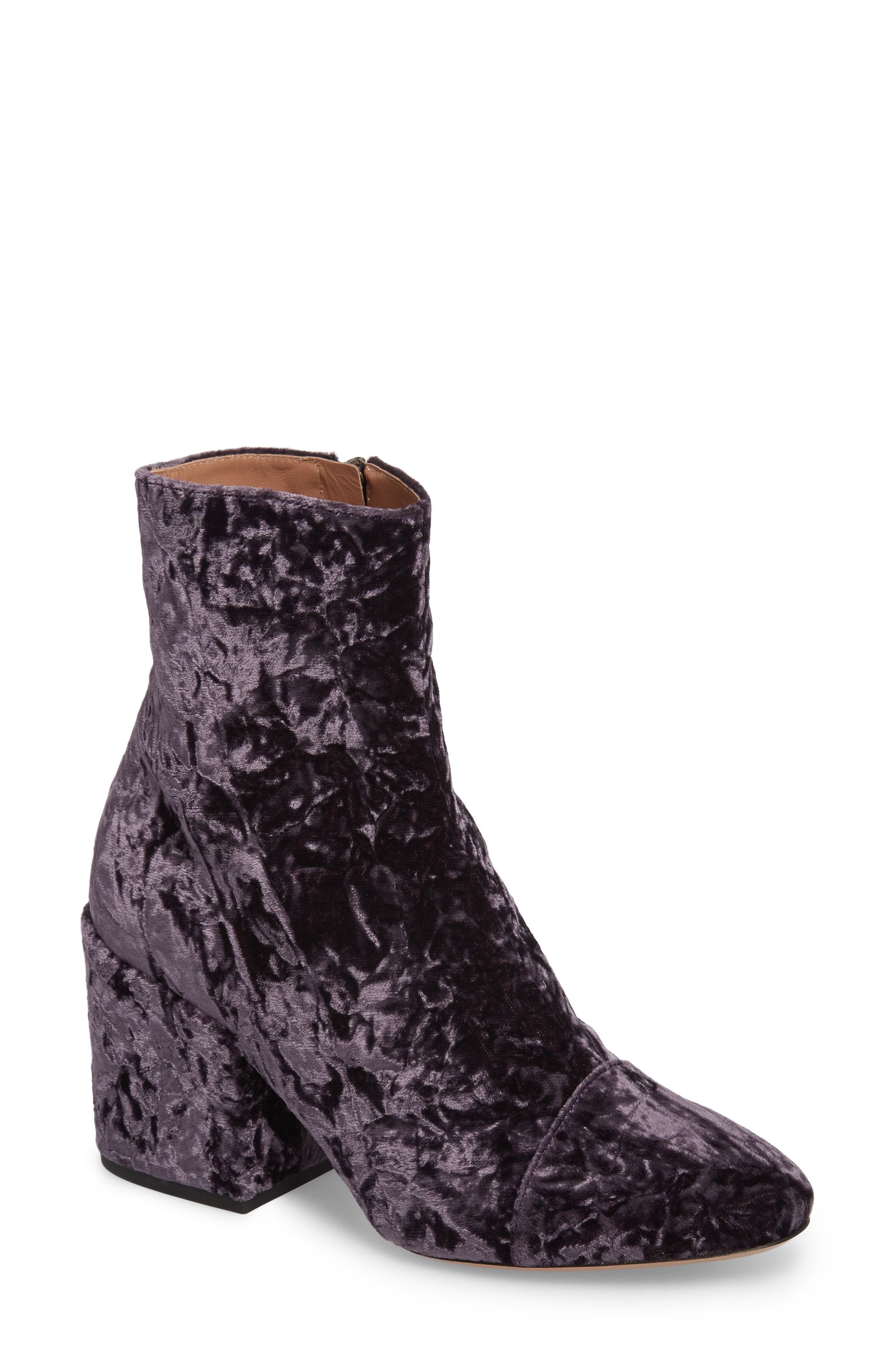 Dries Van Noten Block Heel Bootie (Women)