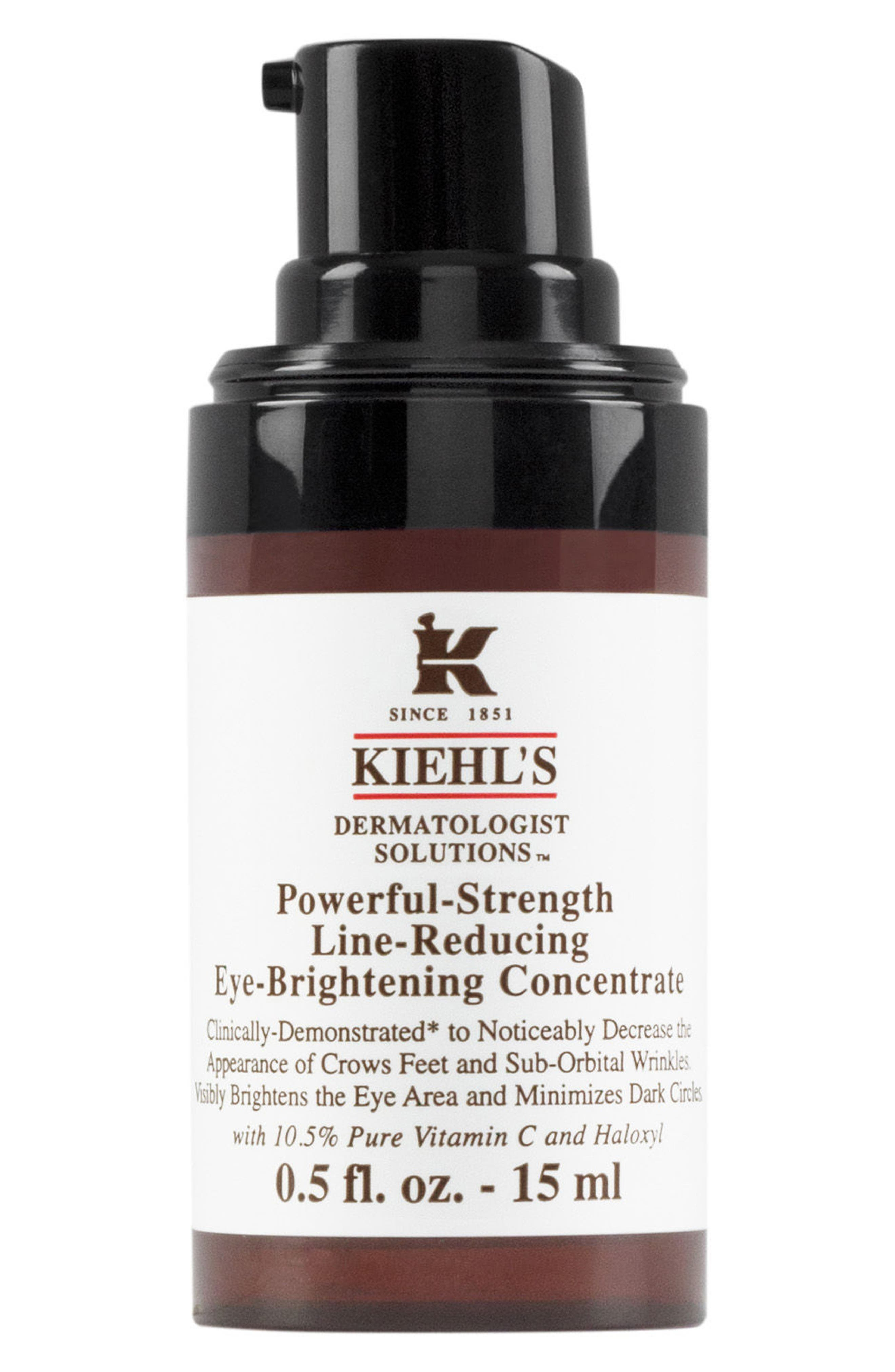 Main Image - Kiehl's Since 1851 'Dermatologist Solutions™' Powerful-Strength Line-Reducing Eye-Brightening Concentrate