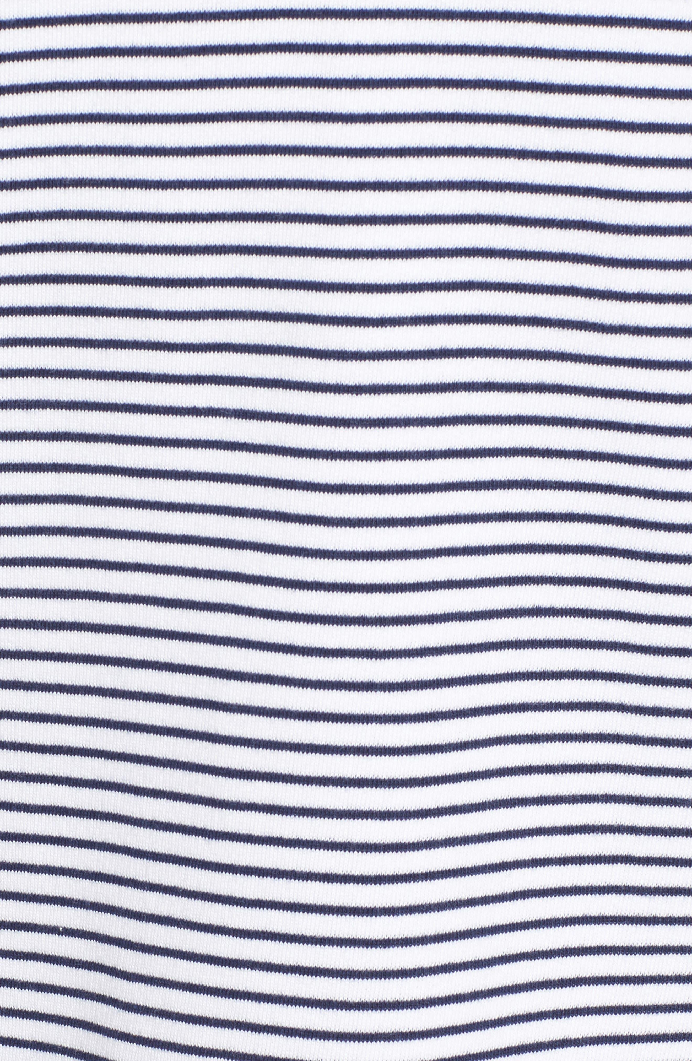 Island Stripe Shep Hoodie Shirt,                             Alternate thumbnail 5, color,                             Deep Bay