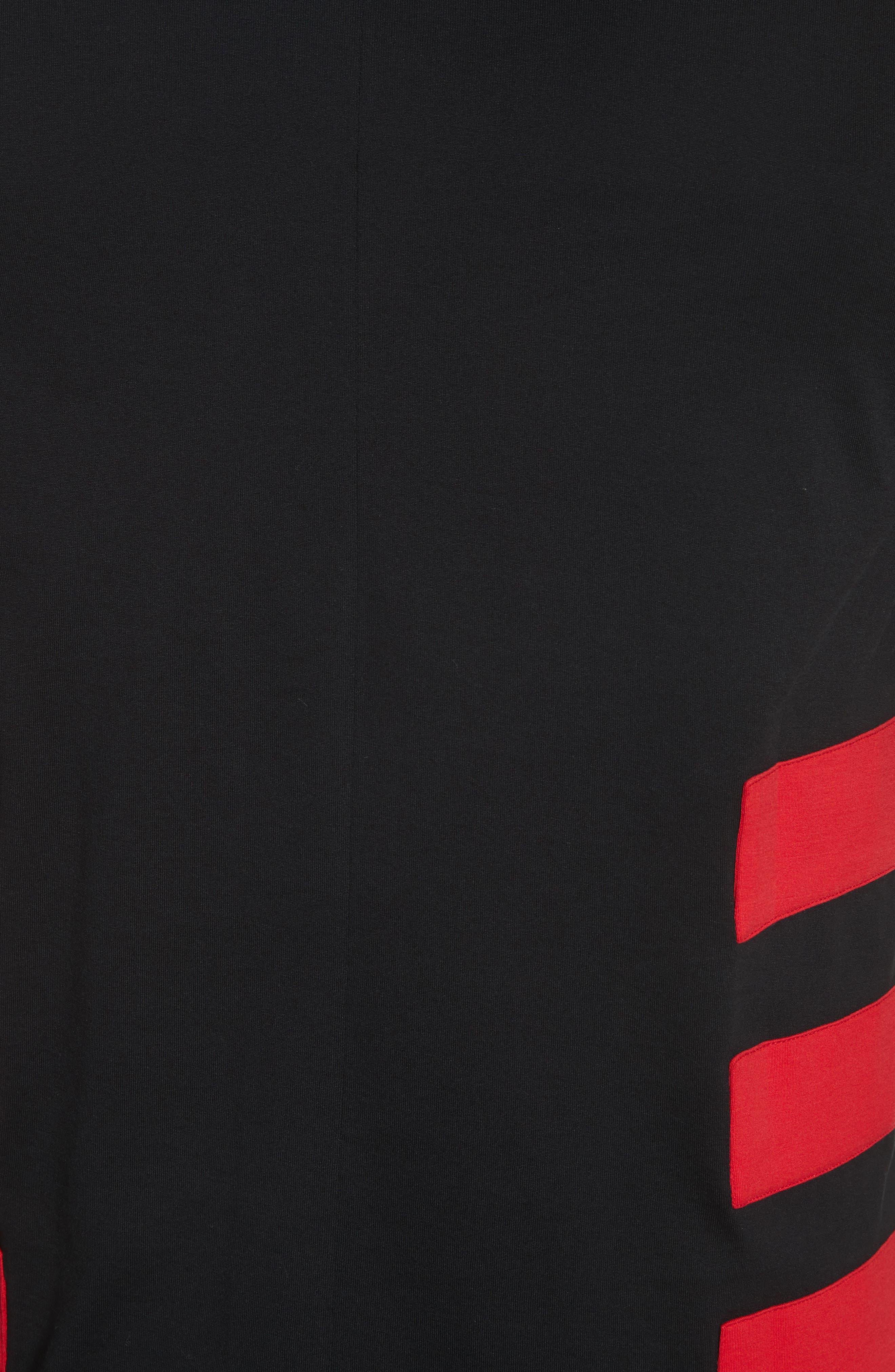 Band T-Shirt,                             Alternate thumbnail 5, color,                             Black