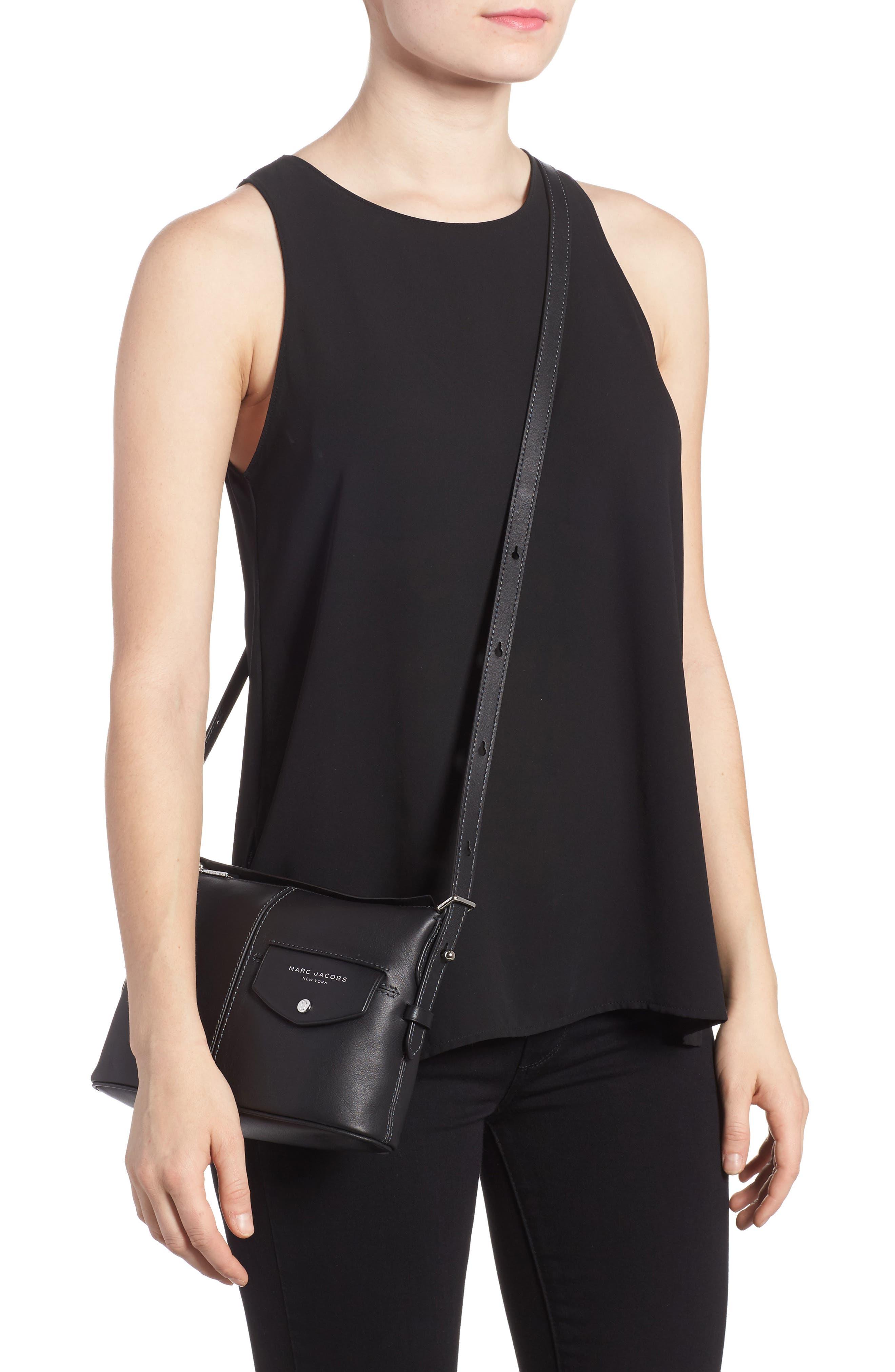 Alternate Image 2  - MARC JACOBS The Side Sling Leather Crossbody Bag