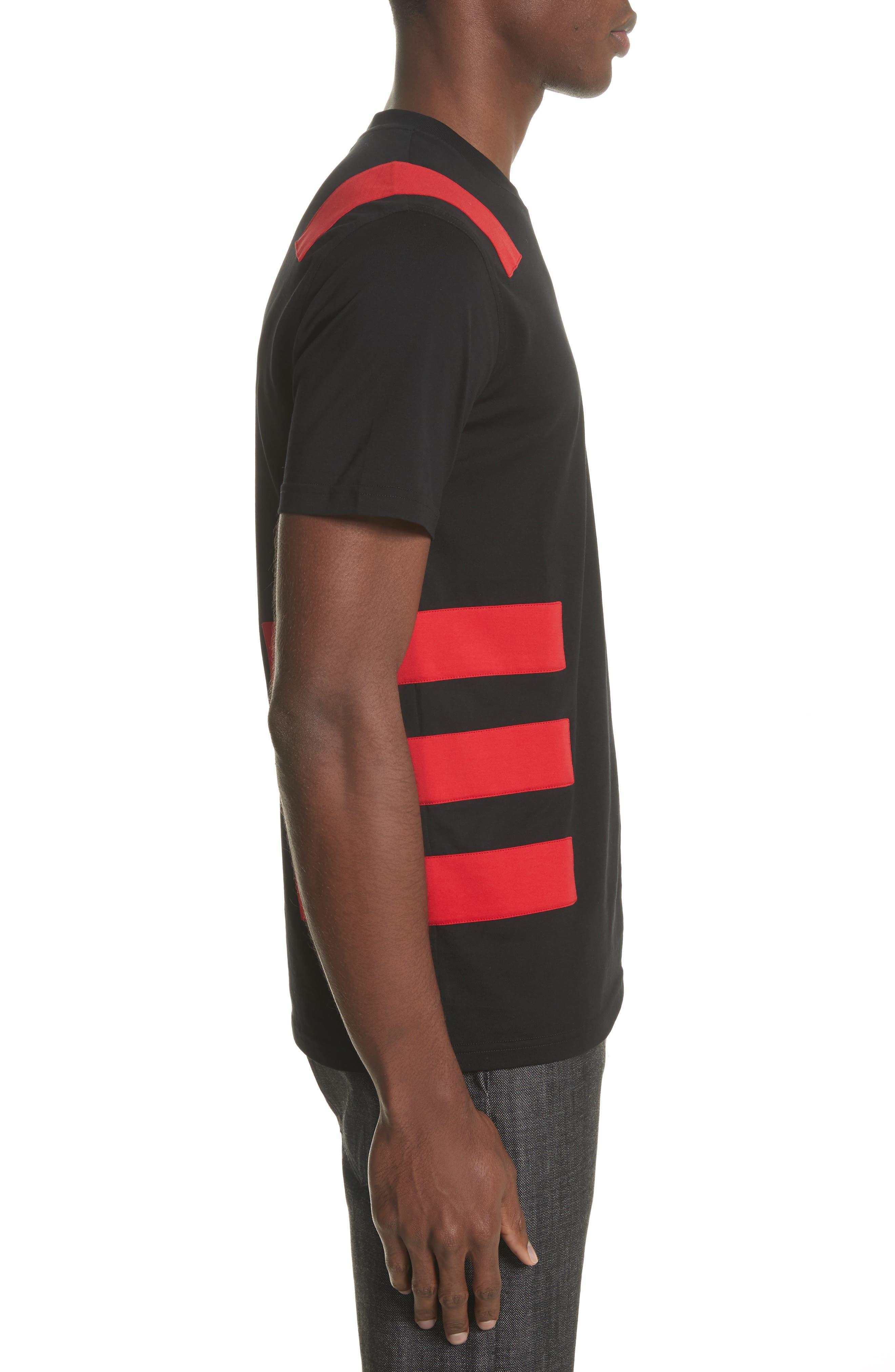Band T-Shirt,                             Alternate thumbnail 3, color,                             Black
