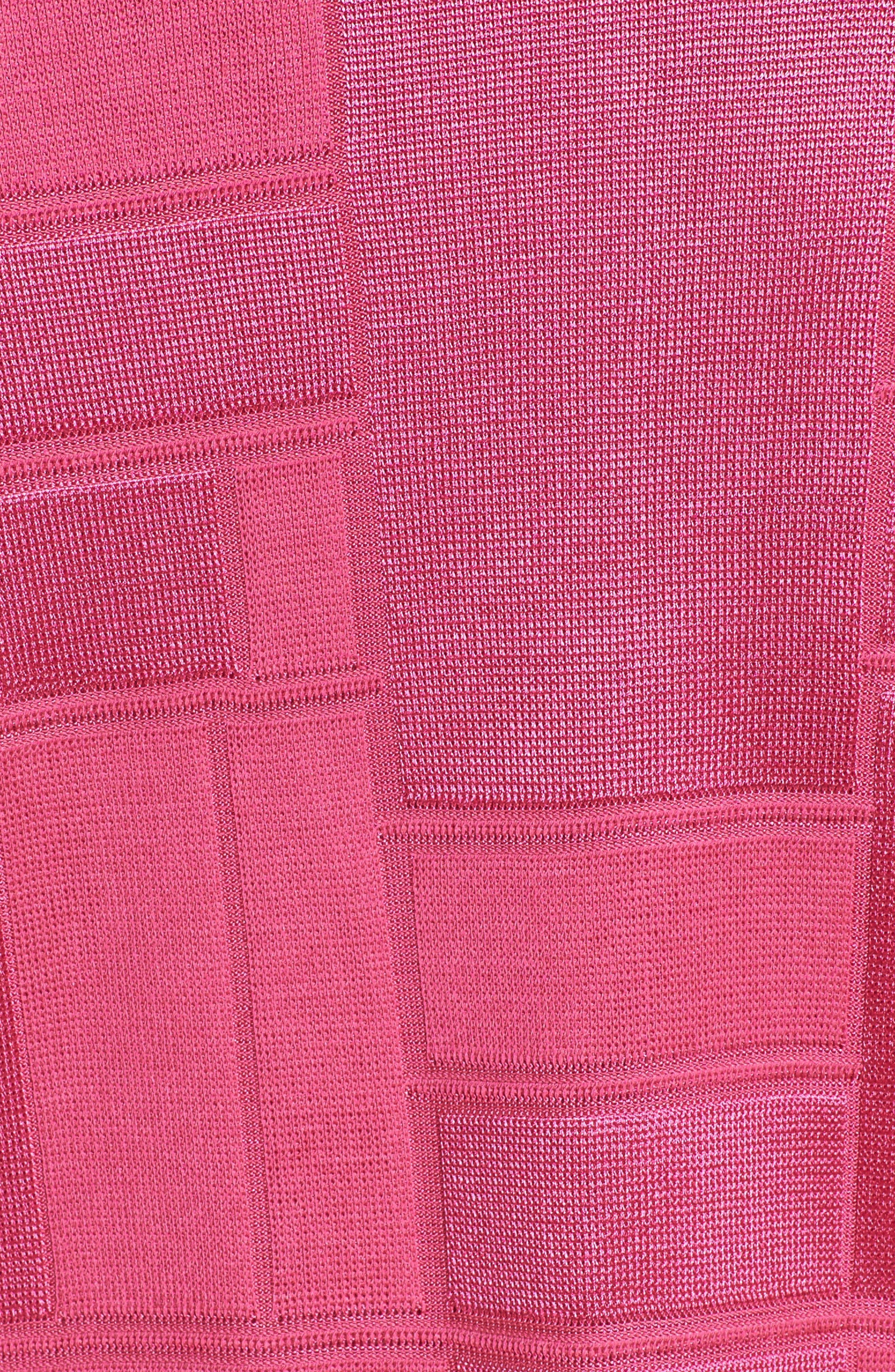 Alternate Image 5  - Ming Wang Contrasting Trim Grid Blazer