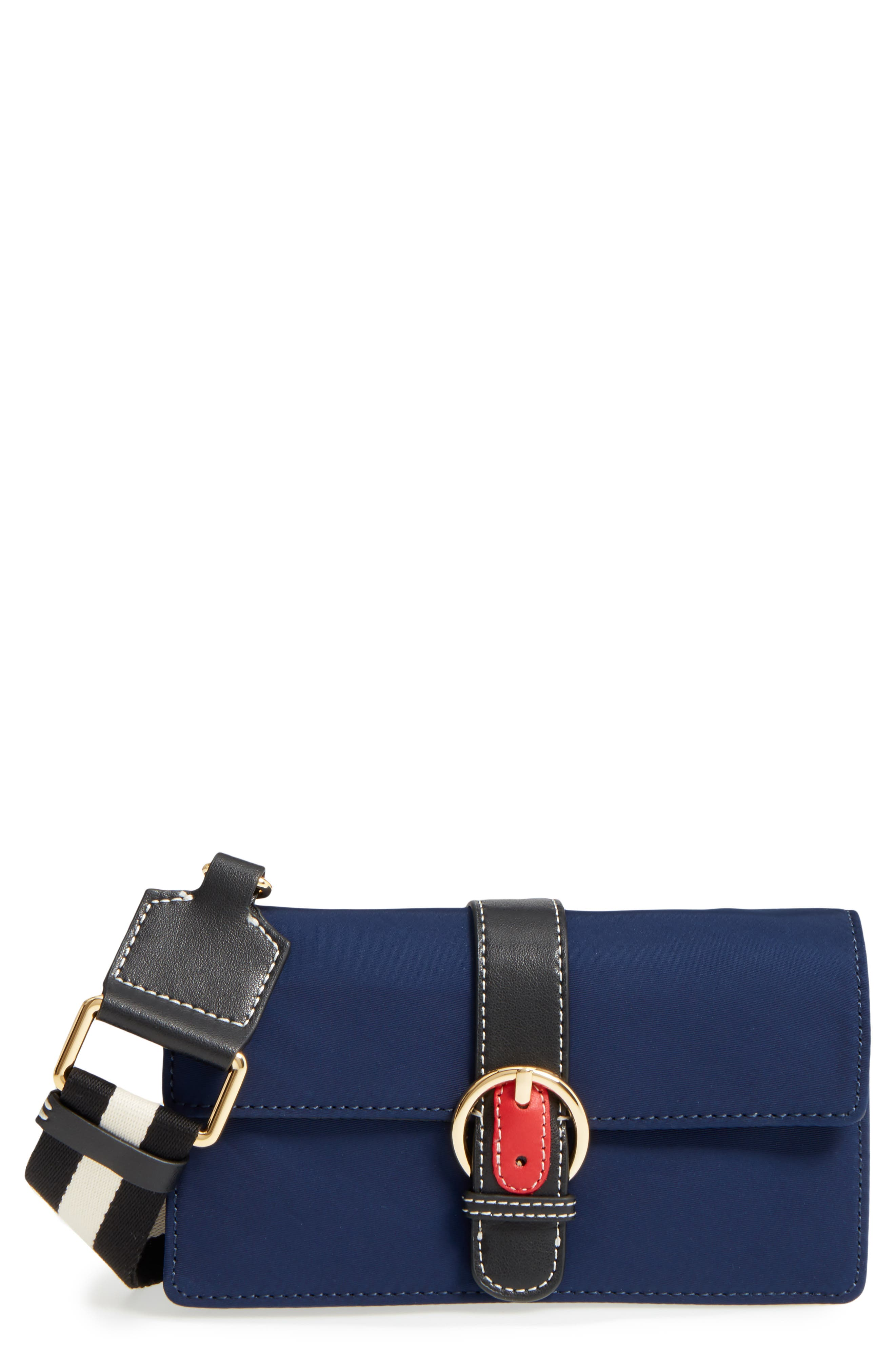 Main Image - Frances Valentine Nylon Crossbody Wallet