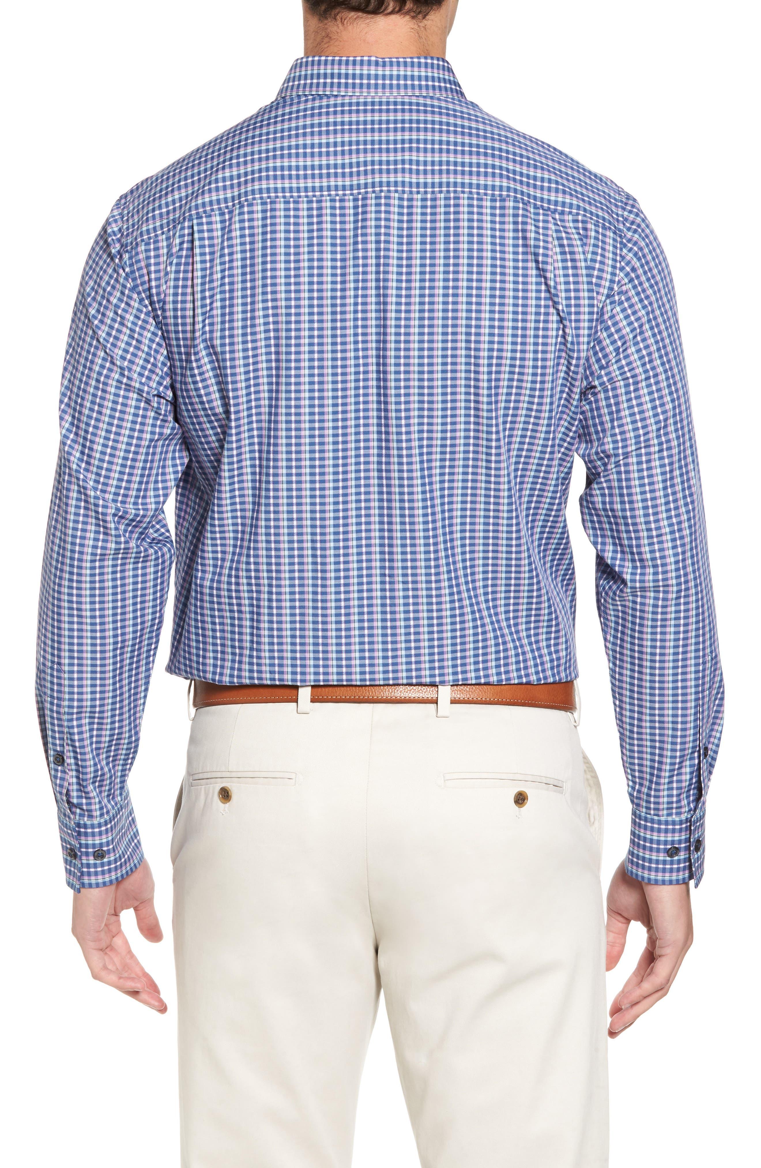 Alternate Image 2  - Tommy Bahama Cypress Cove Classic Fit Plaid Sport Shirt