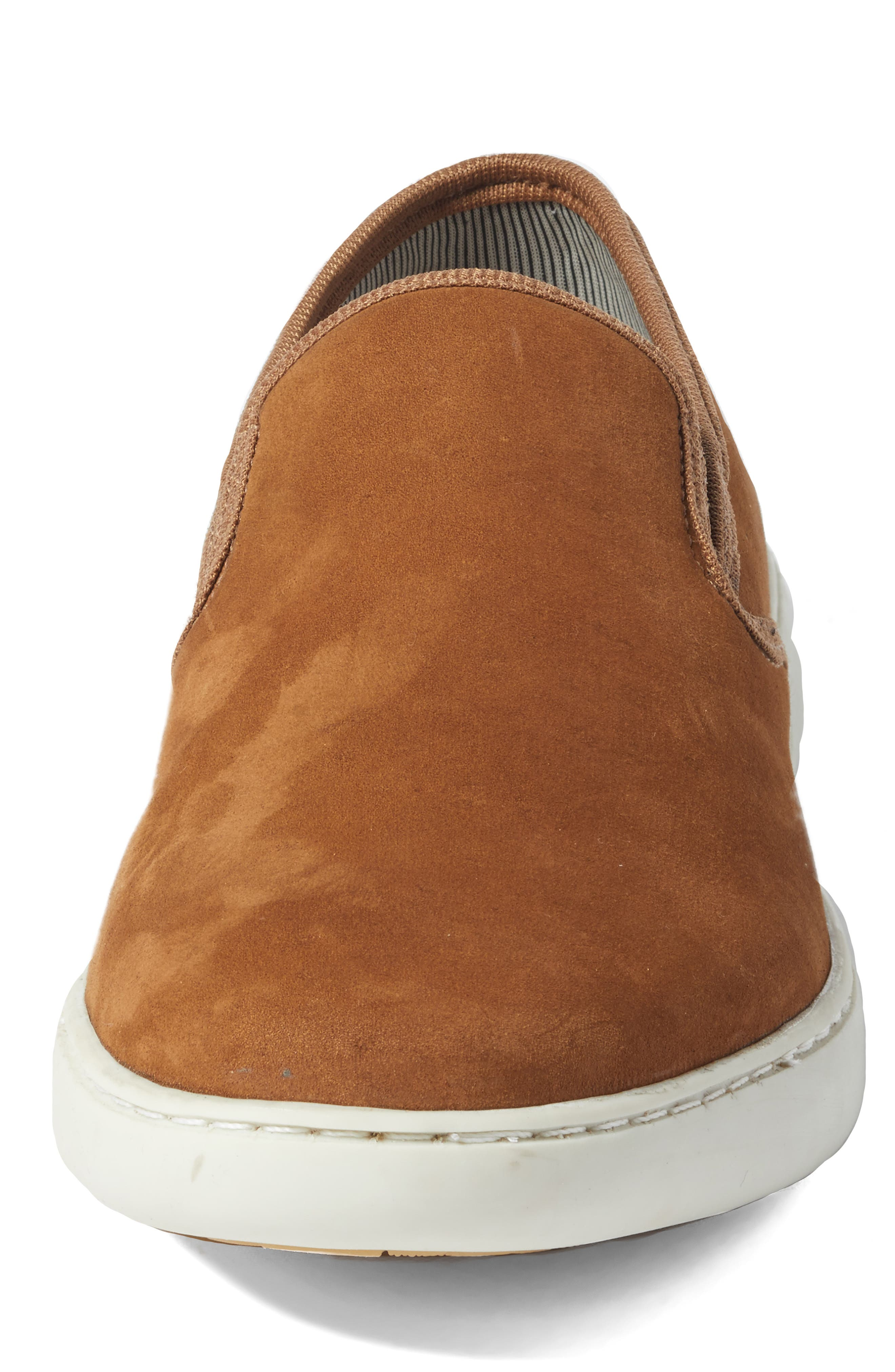 Malibu Slip-on,                             Alternate thumbnail 5, color,                             Tan Nubuck
