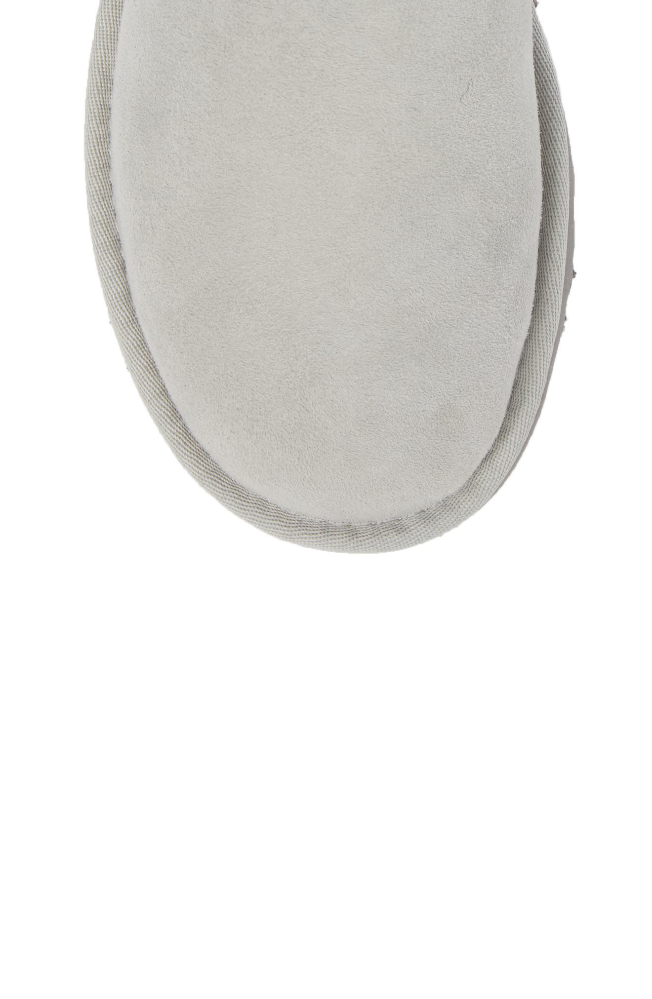 Bailey Button Poppy Genuine Shearling Boot,                             Alternate thumbnail 5, color,                             Grey Violet