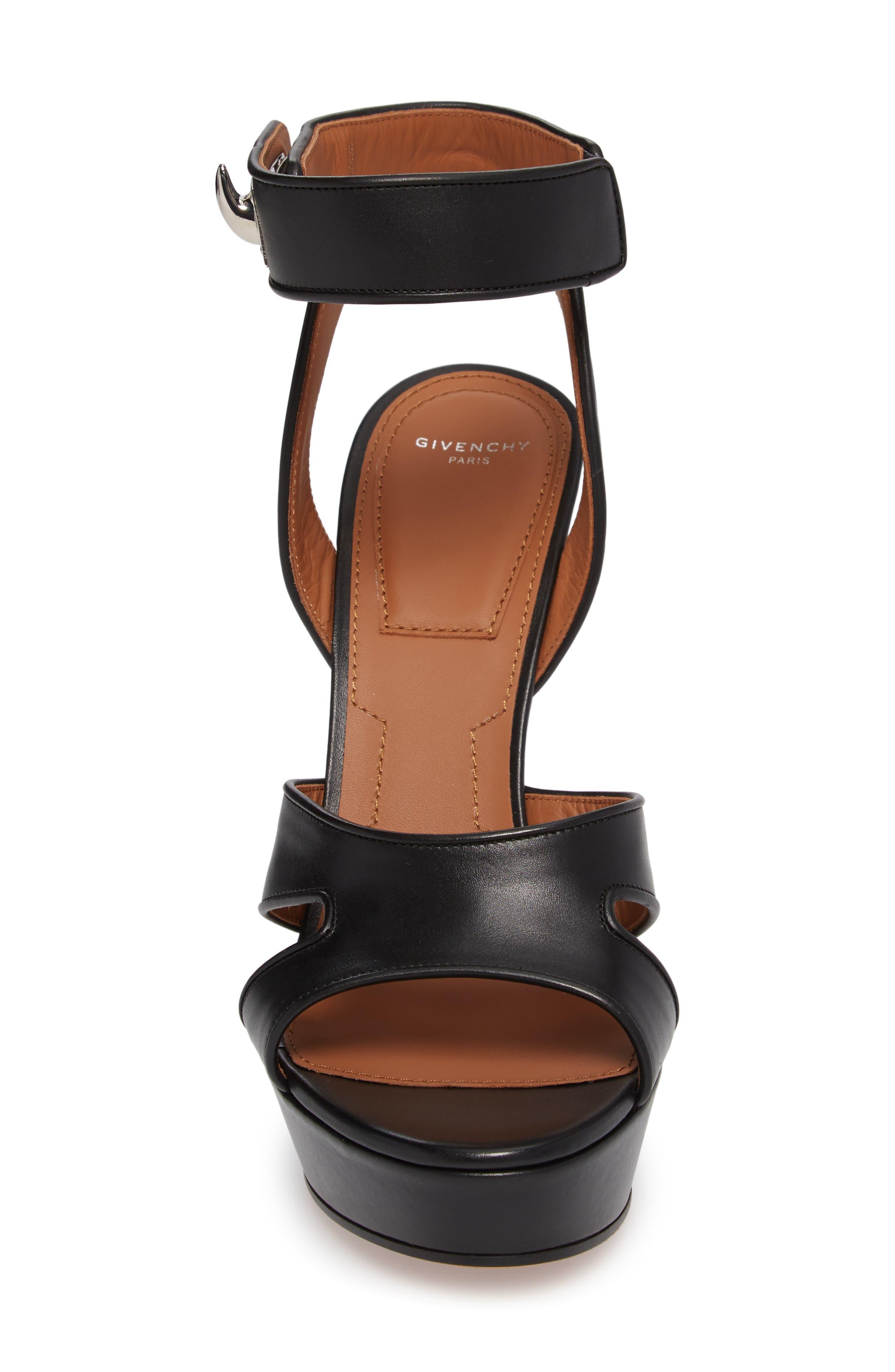Alternate Image 4  - Givenchy Shark Tooth Platform Sandal (Women)