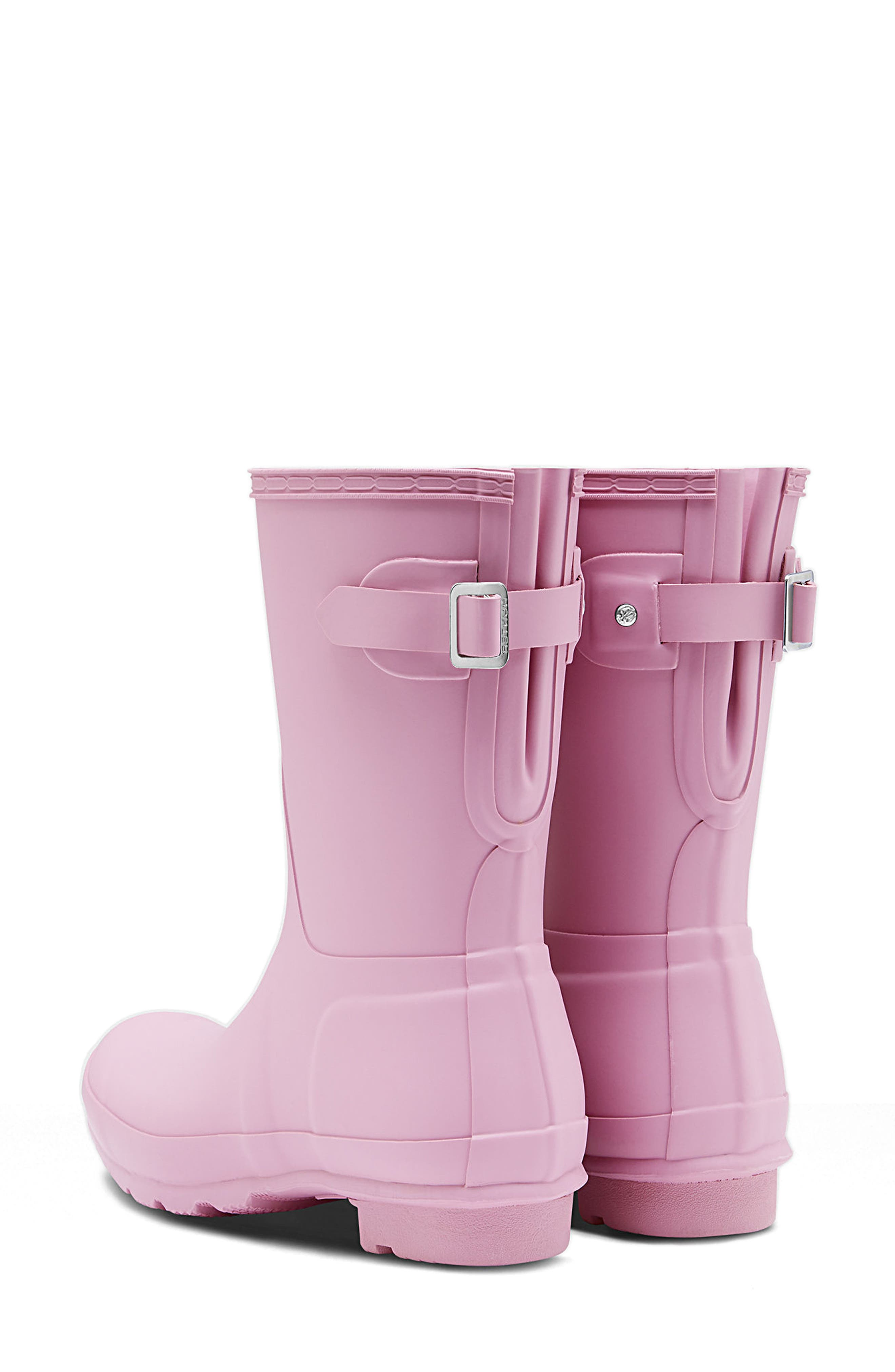Original Short Back Adjustable Rain Boot,                             Alternate thumbnail 2, color,                             Blossom