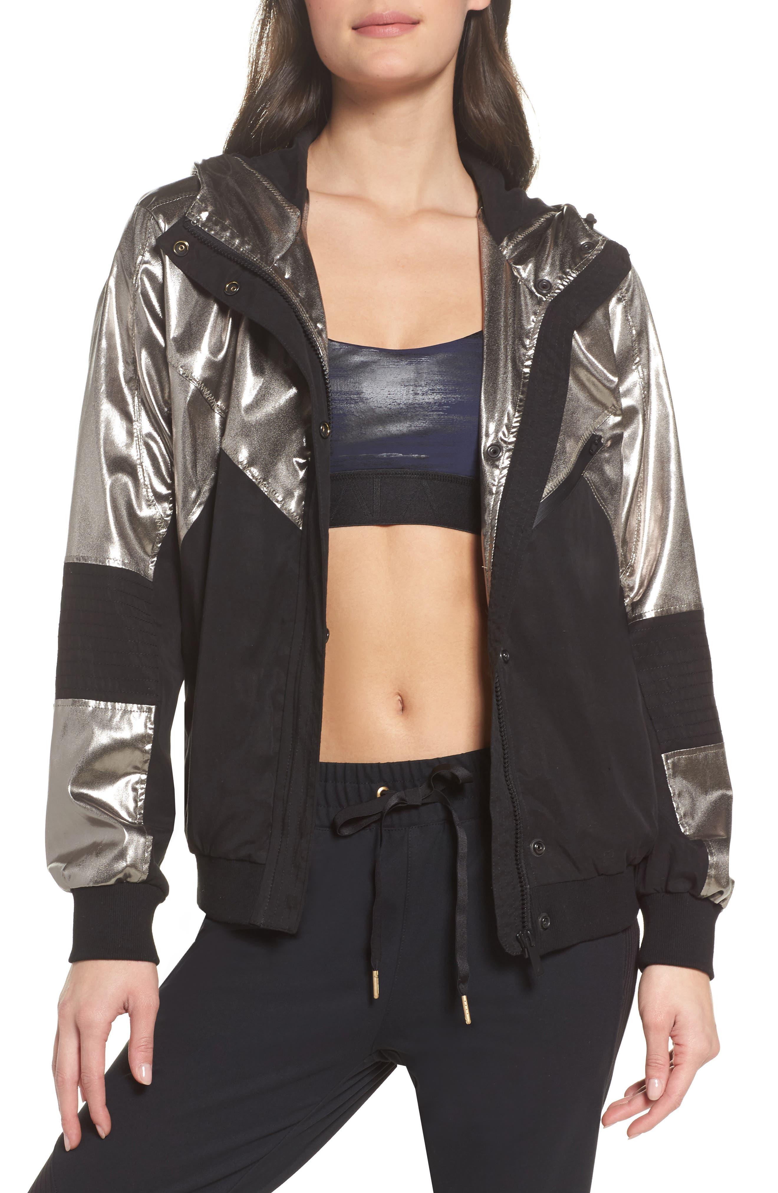 Daze Jacket,                         Main,                         color, Platinum