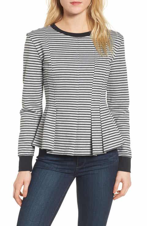 Chelsea28 Pleated Sweatshirt