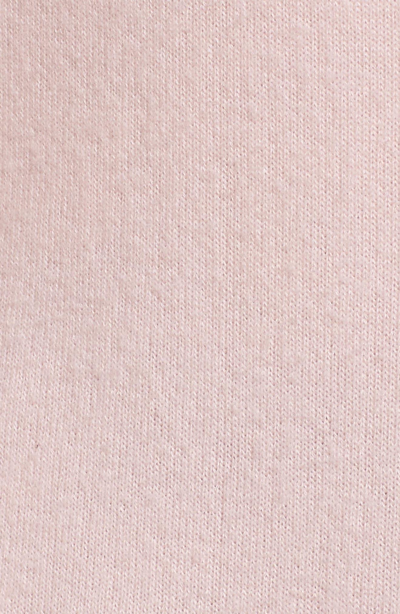 Hacci Cardigan,                             Alternate thumbnail 6, color,                             Lotus Pink
