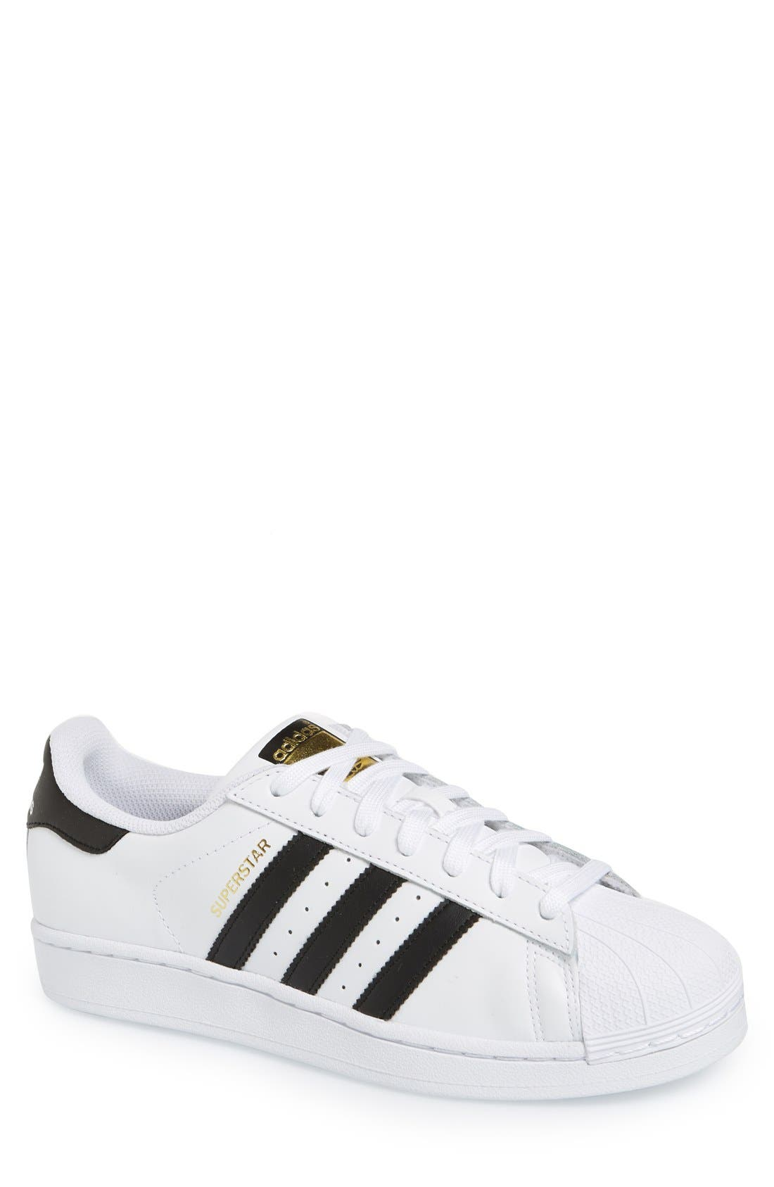 Alternate Image 1 Selected - adidas Superstar Foundation Sneaker