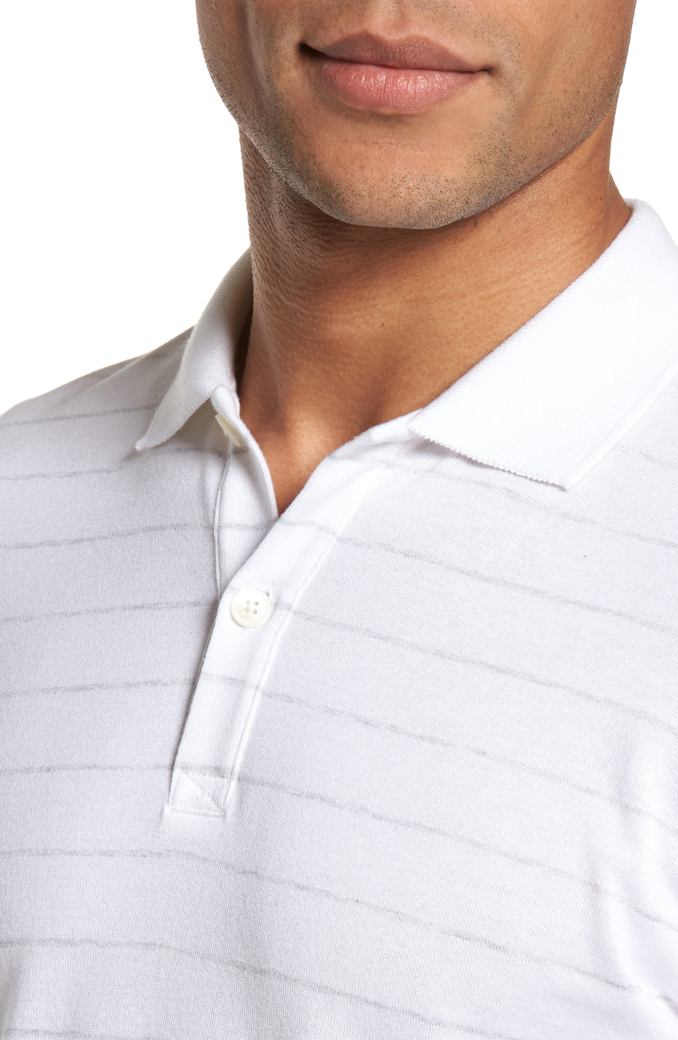 Alternate Image 4  - Eleventy Stripe Polo