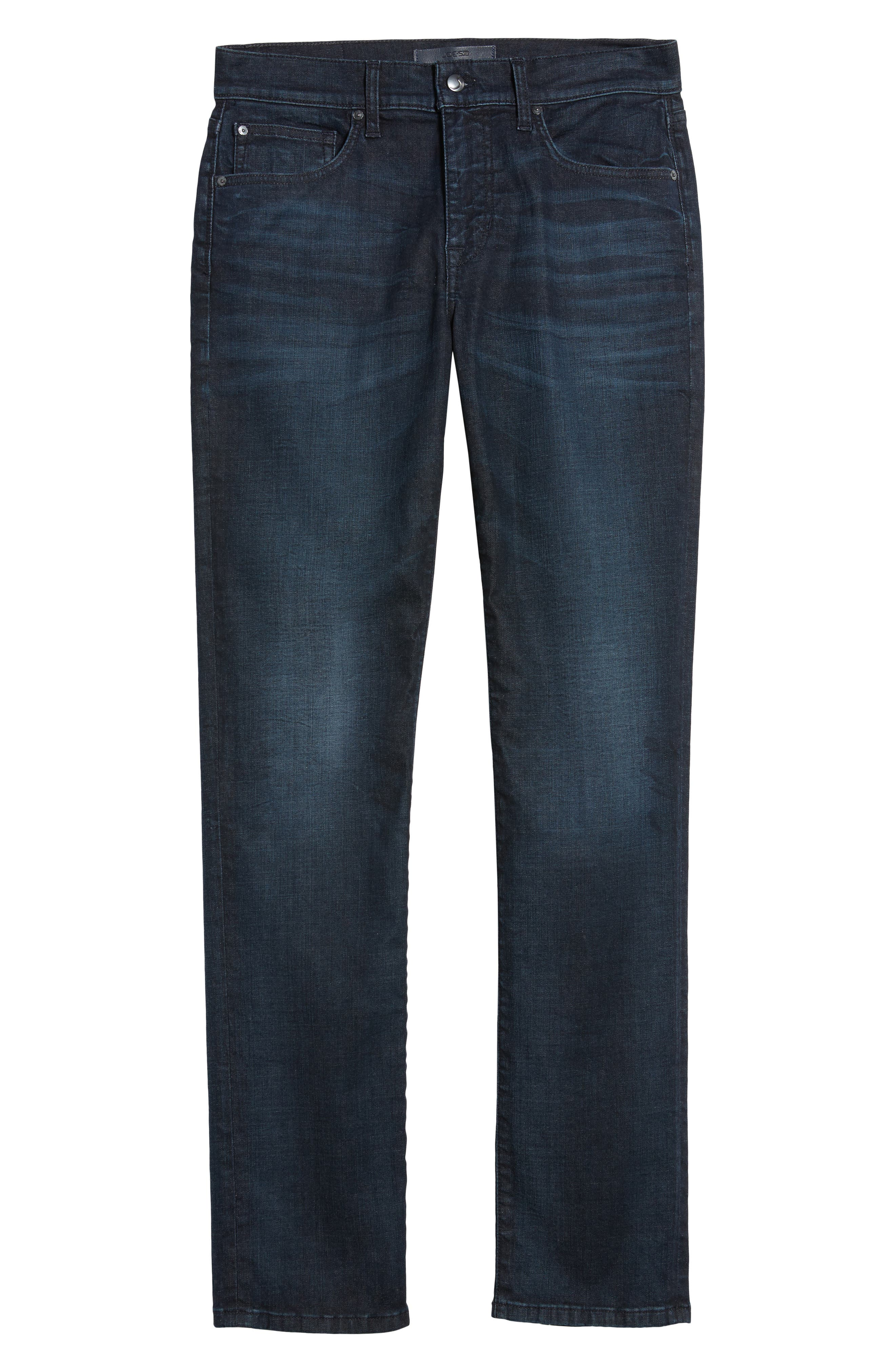 Brixton Slim Straight Leg Jeans,                             Alternate thumbnail 6, color,                             Larsen