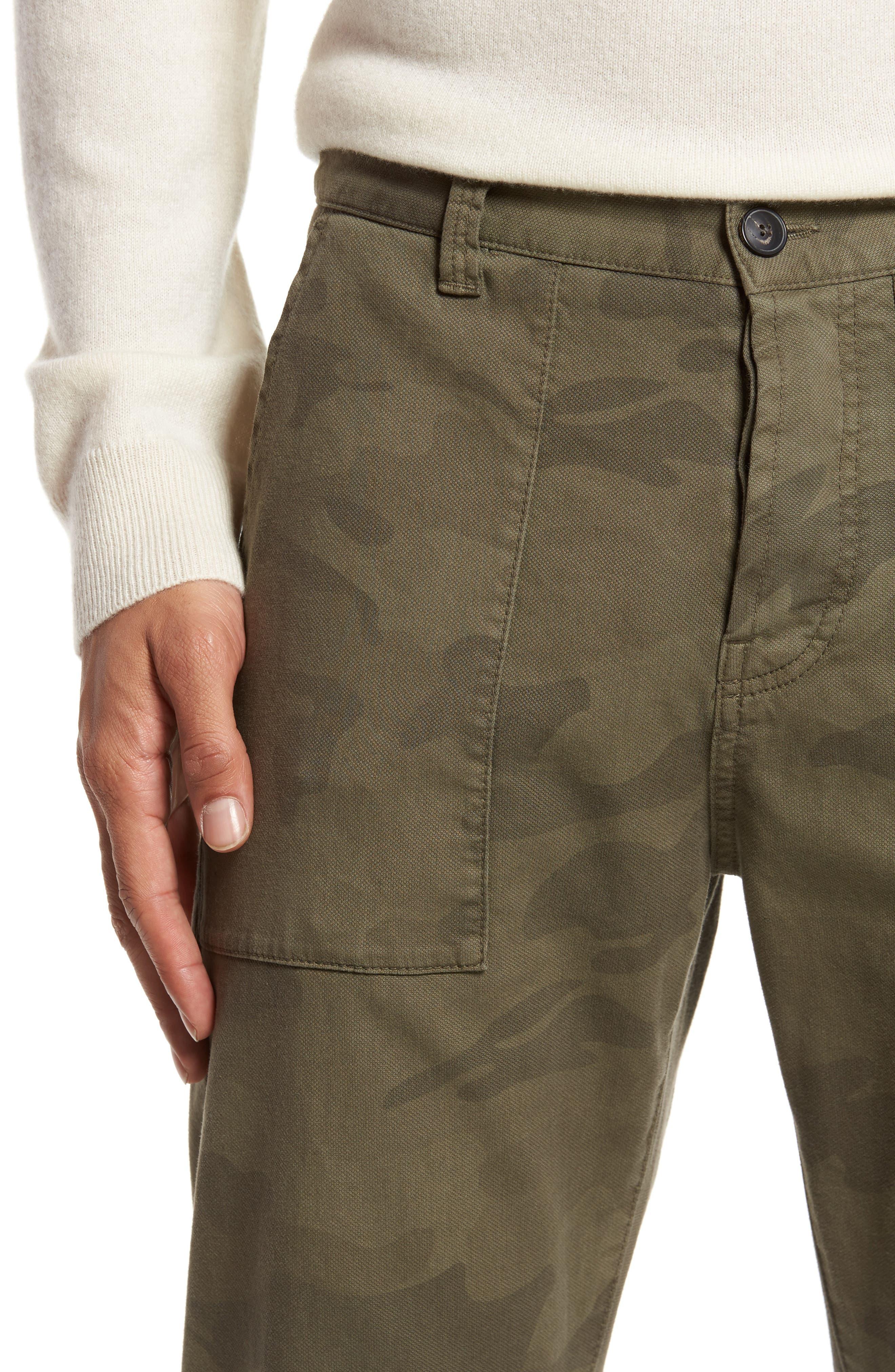 Alternate Image 4  - Eleventy Camo Fatigue Pocket Pants