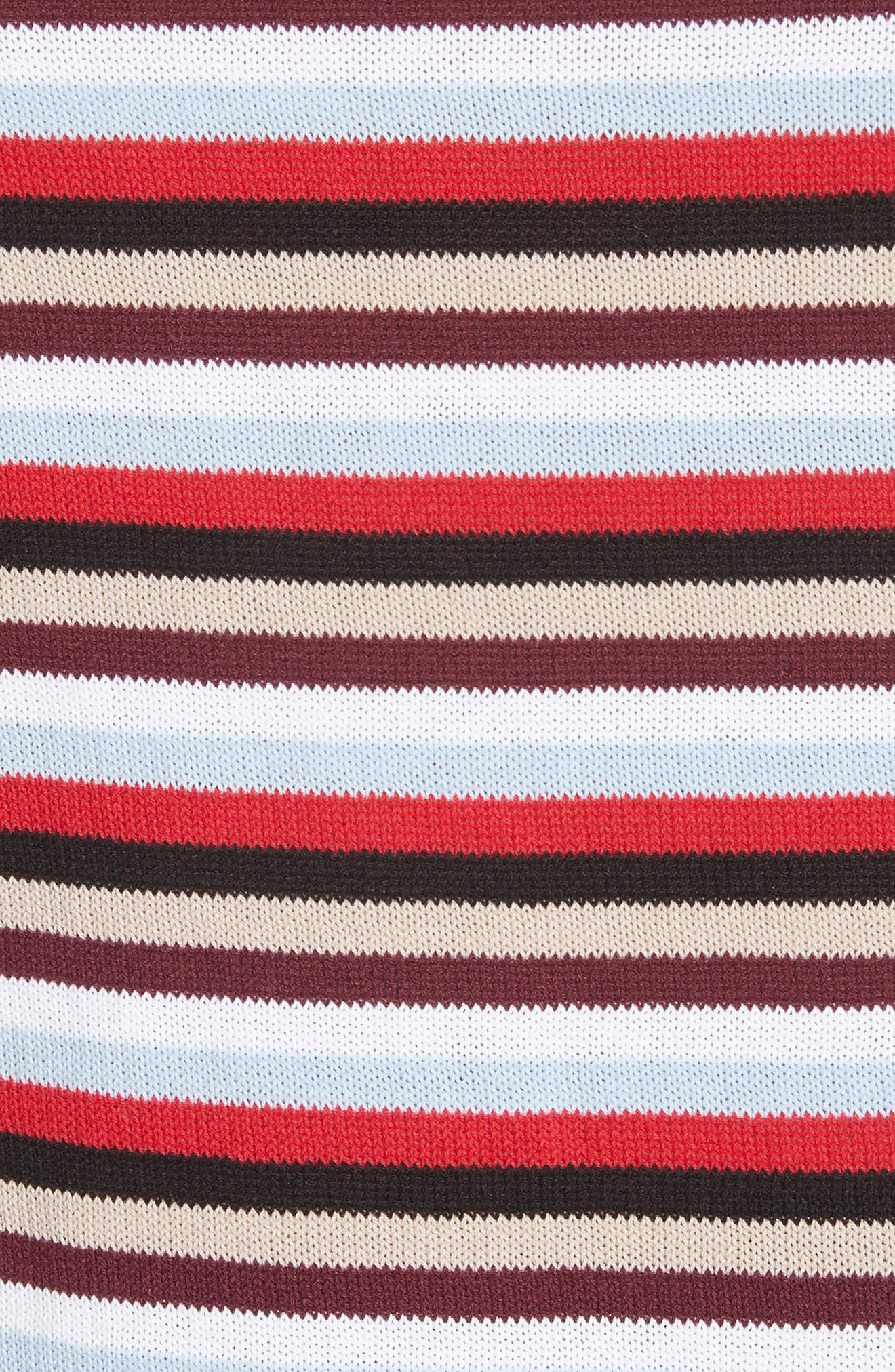 Trompe L'Oeil Sweater,                             Alternate thumbnail 5, color,                             Preppy