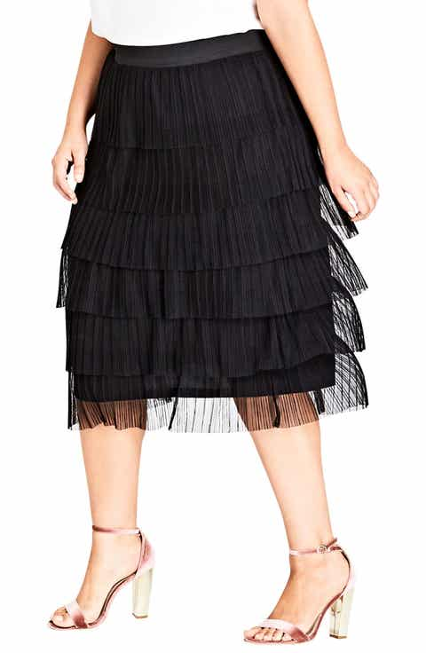 City Chic Ballet Beauty Skirt (Plus Size)