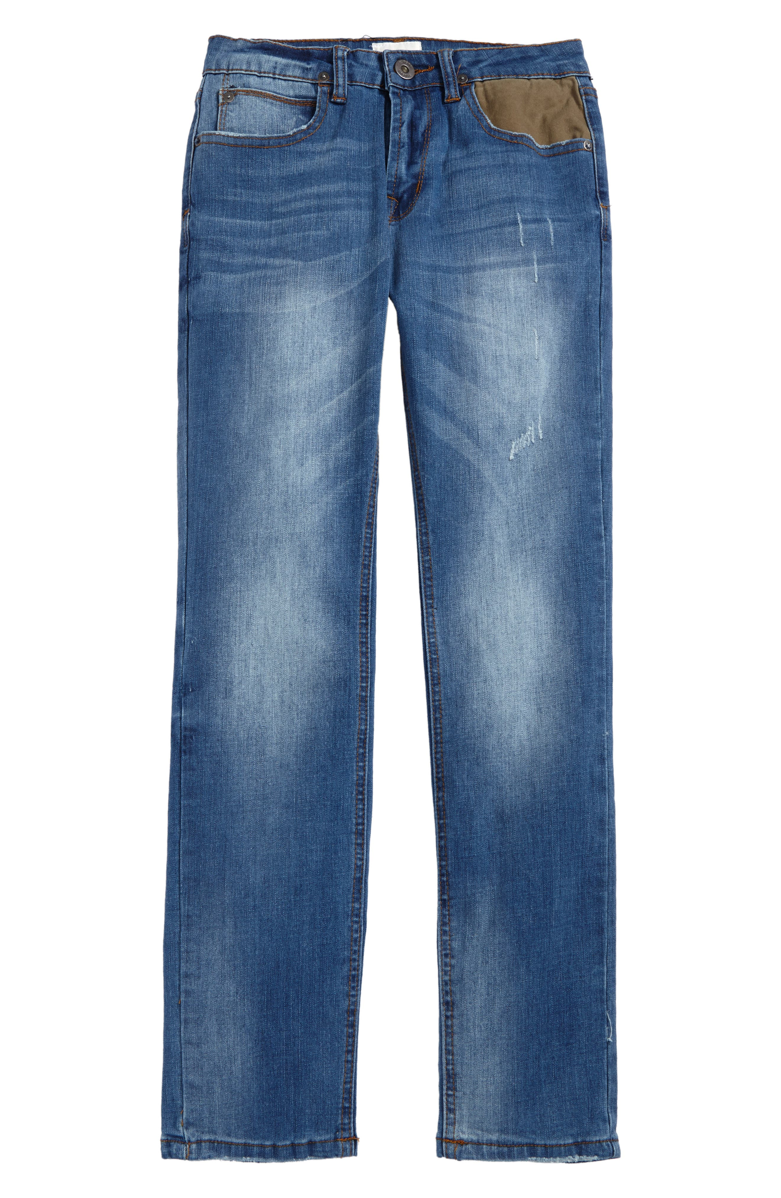 Jagger Slim Fit Straight Leg Jeans,                             Main thumbnail 1, color,                             Zenith