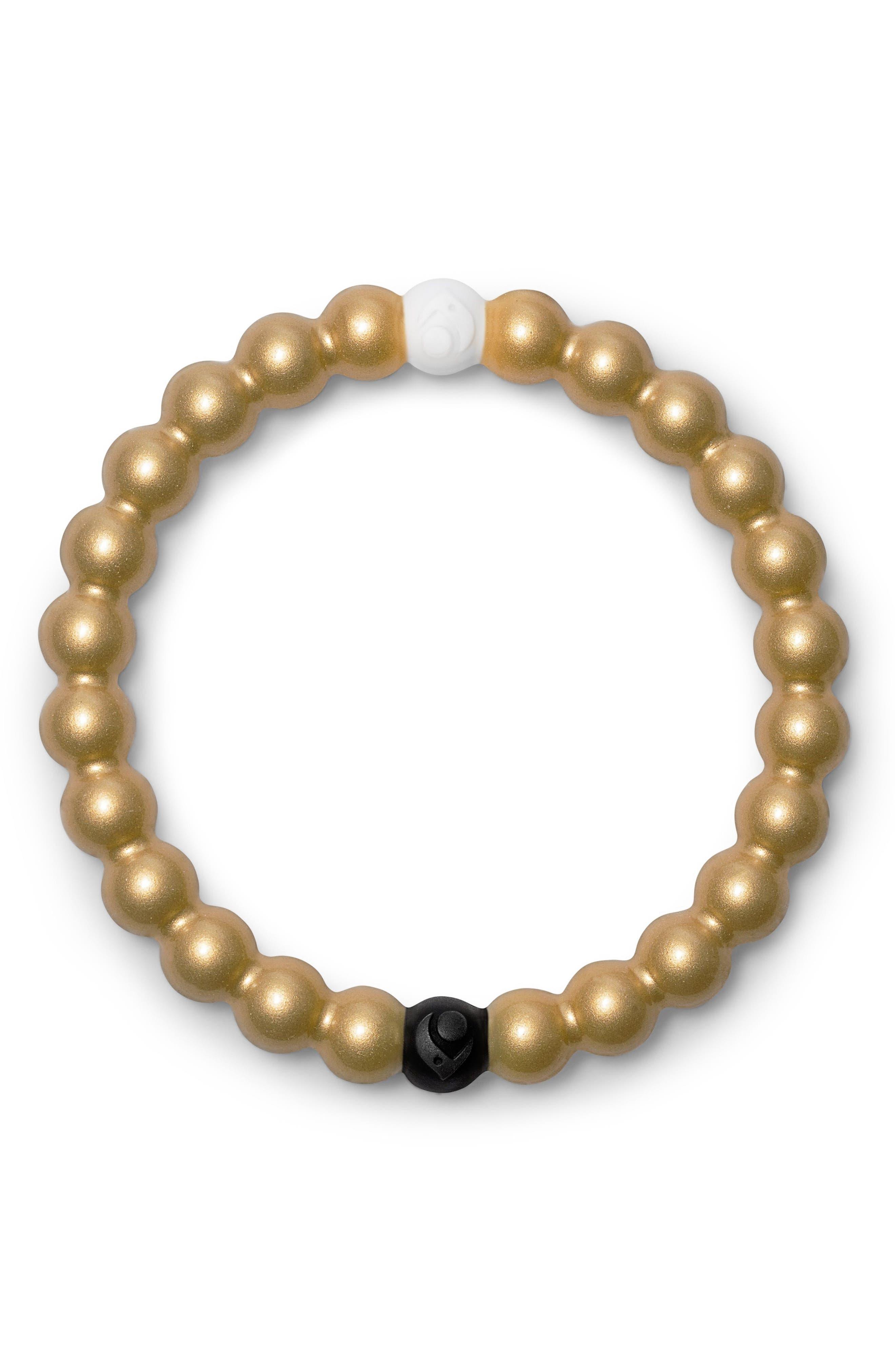 Metallic Bracelet,                         Main,                         color, Metallic Gold
