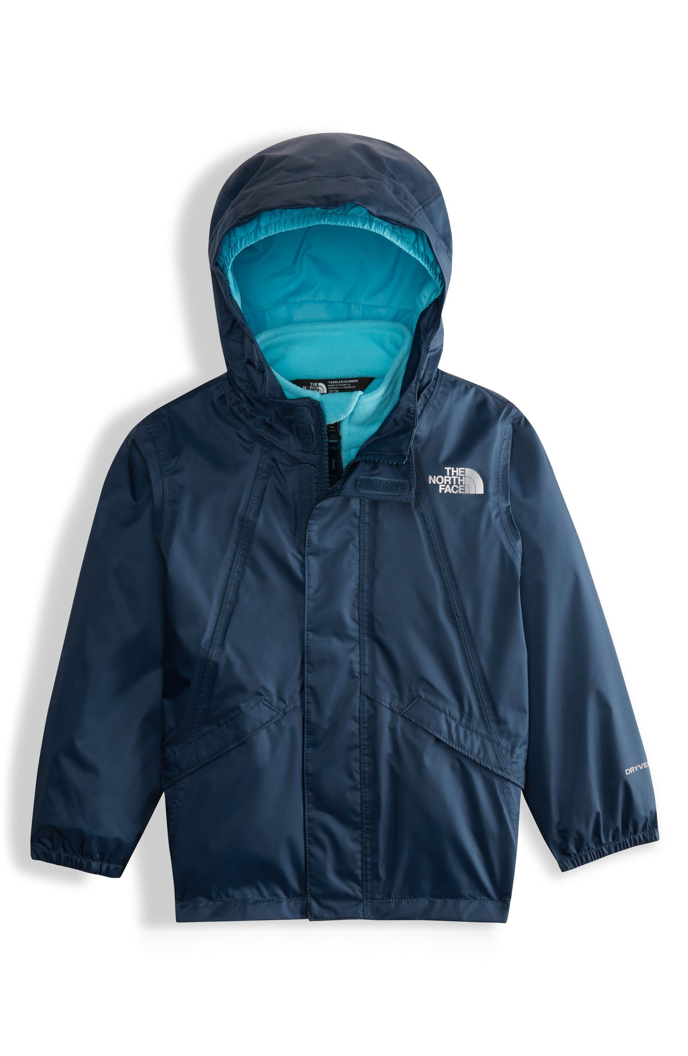 The North Face Stormy Rain Triclimate® Waterproof 3-in-1 Jacket (Toddler Girls & Little Girls)